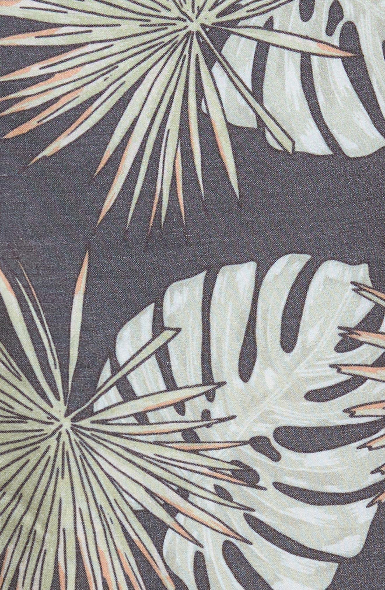 Havana Swim Trunks,                             Alternate thumbnail 5, color,                             VINTAGE BLACK