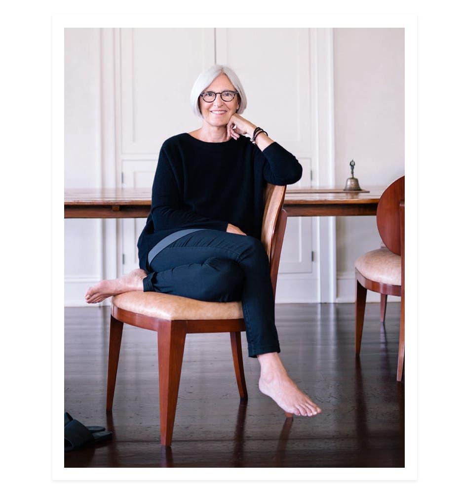 Designer Eileen Fisher.