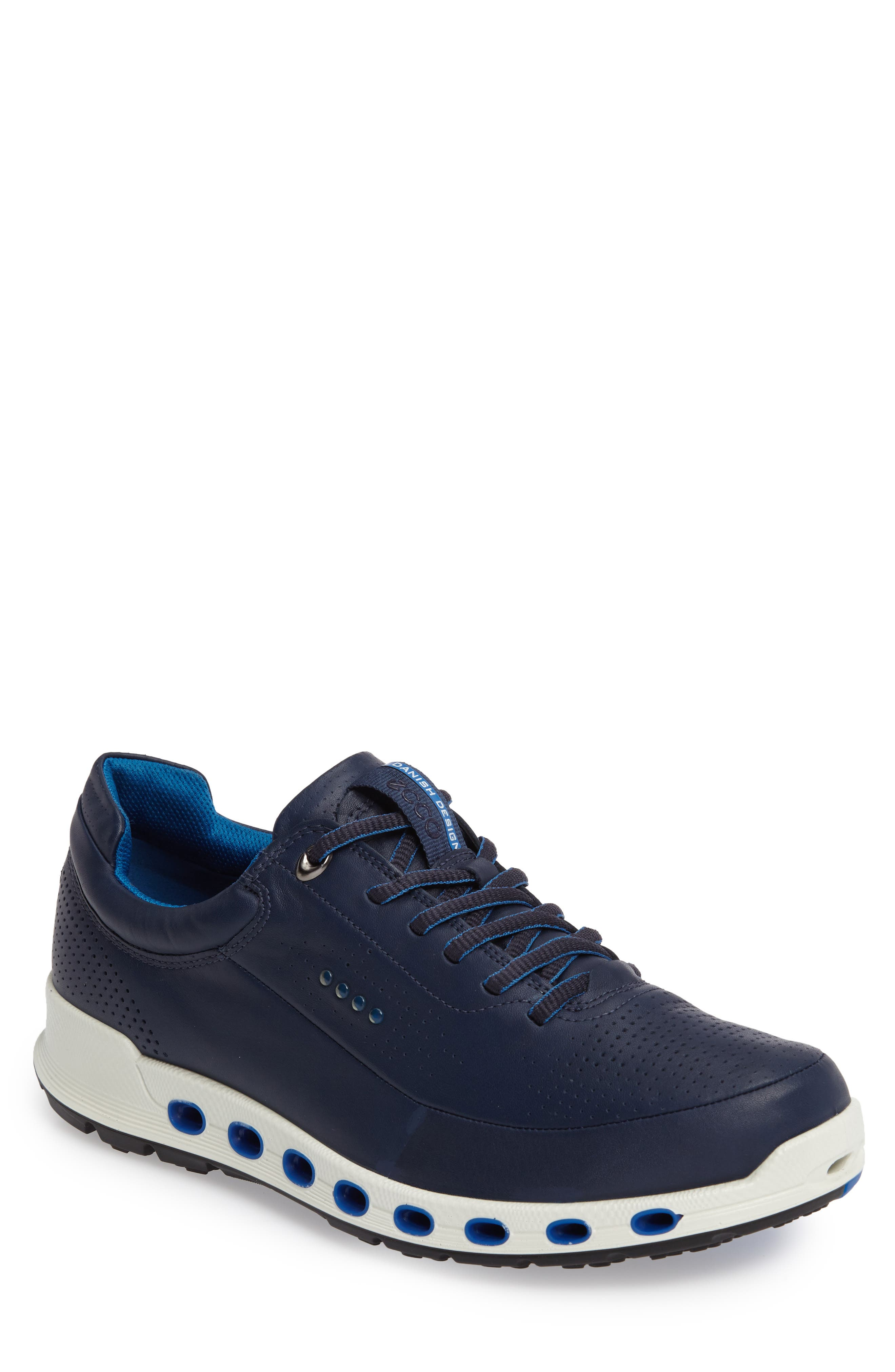 Cool 2.0 Leather GTX Sneaker,                             Main thumbnail 1, color,                             NAVY