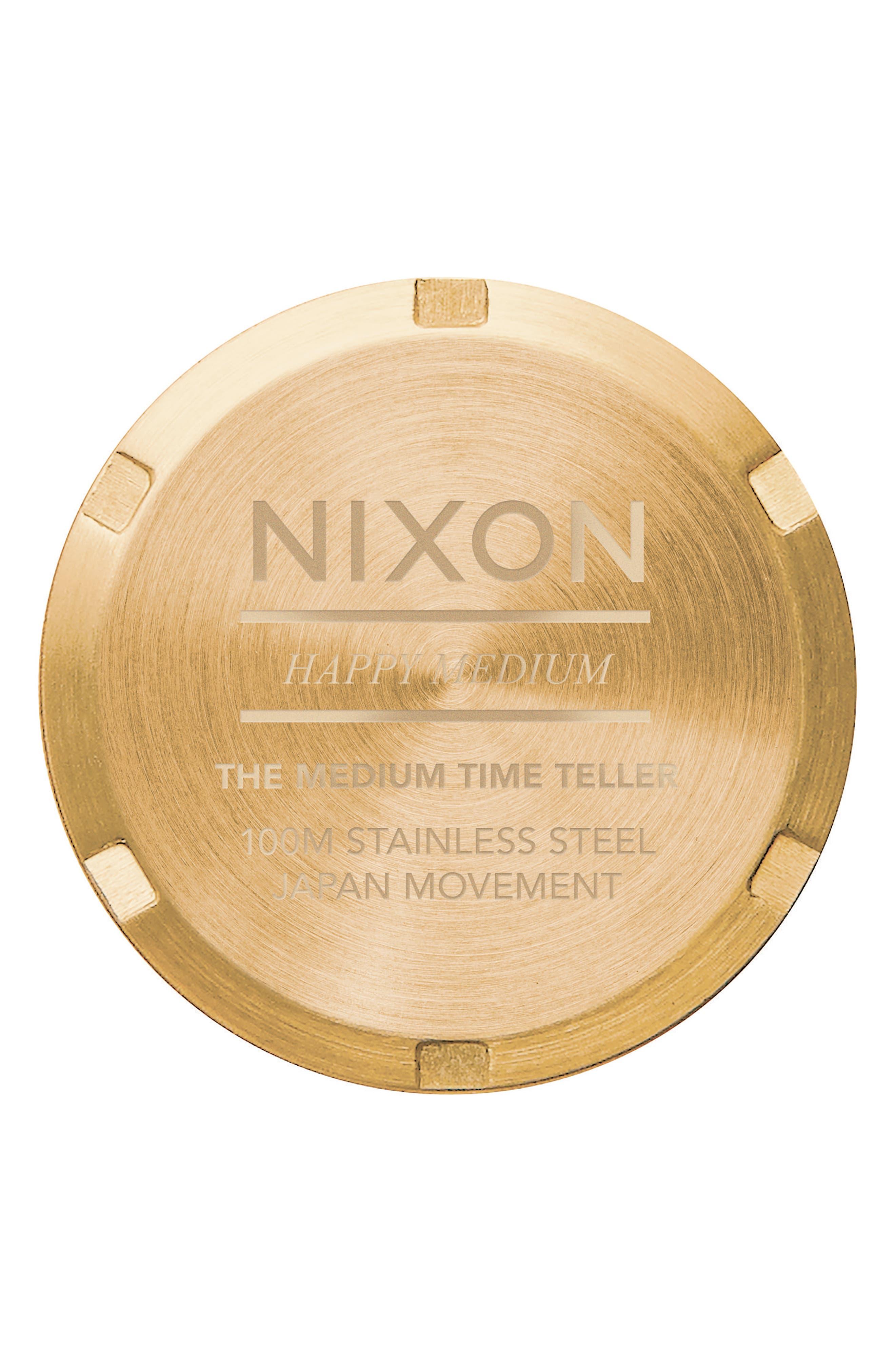 Time Teller Bracelet Watch, 31mm,                             Alternate thumbnail 4, color,                             GOLD/ COBALT/ GOLD