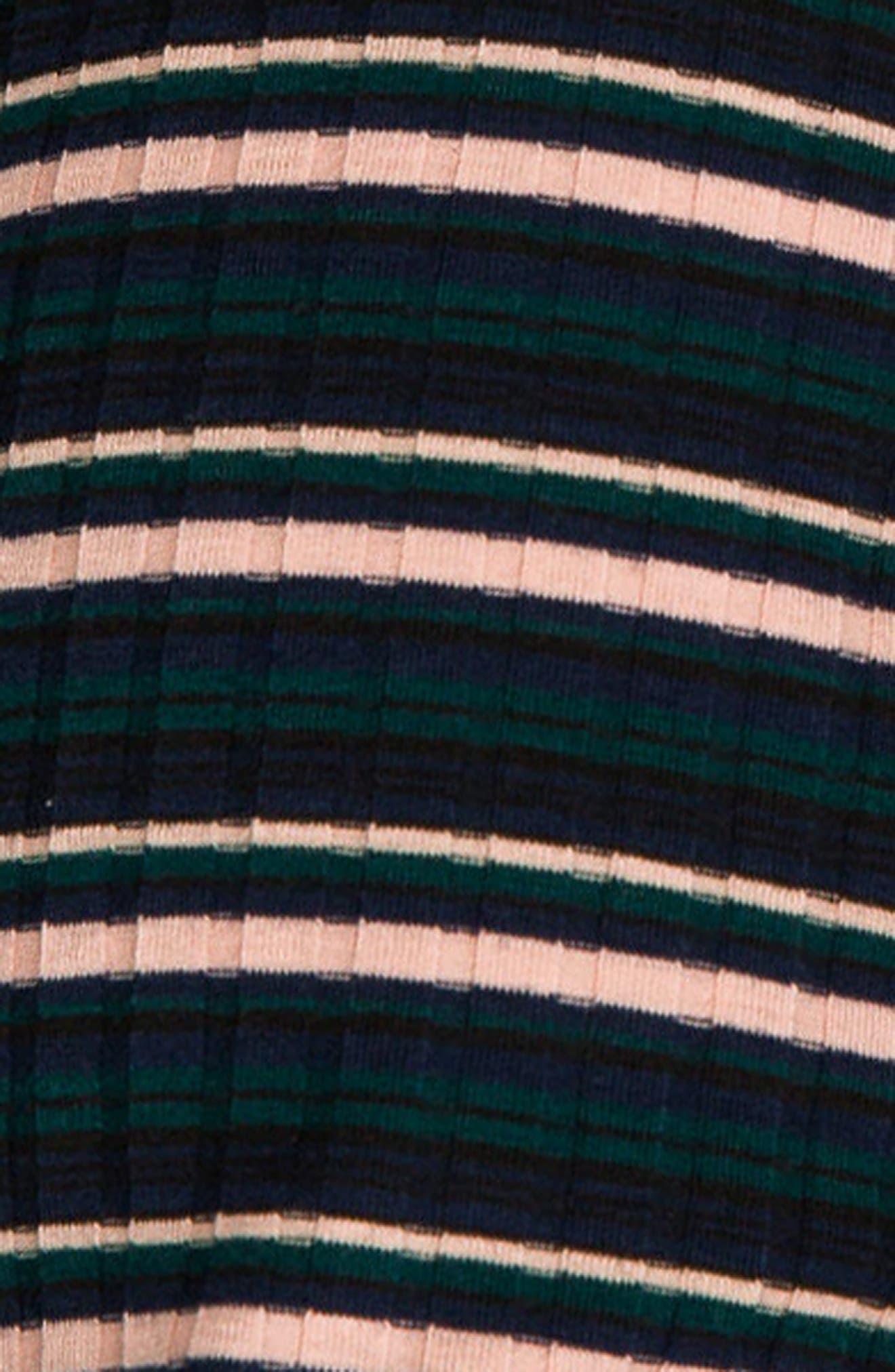 Talya Turtleneck Maternity Dress,                             Alternate thumbnail 4, color,                             302