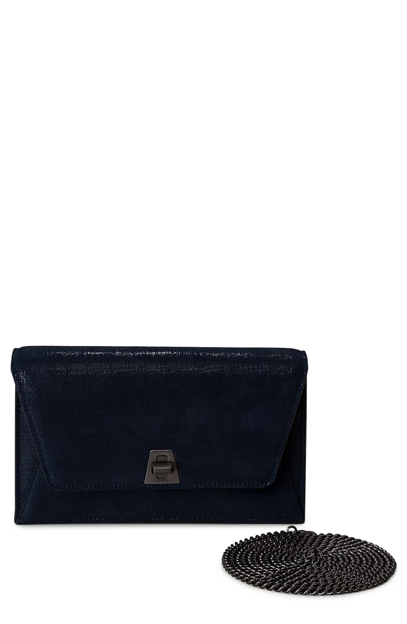 Anouk Leather Shoulder Bag,                         Main,                         color,