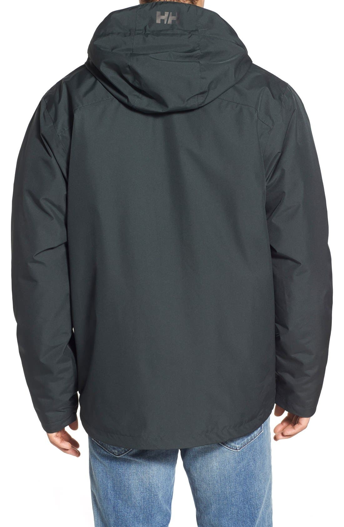 Squamish 3-in-1 Water Repellent Hooded Jacket,                             Alternate thumbnail 10, color,