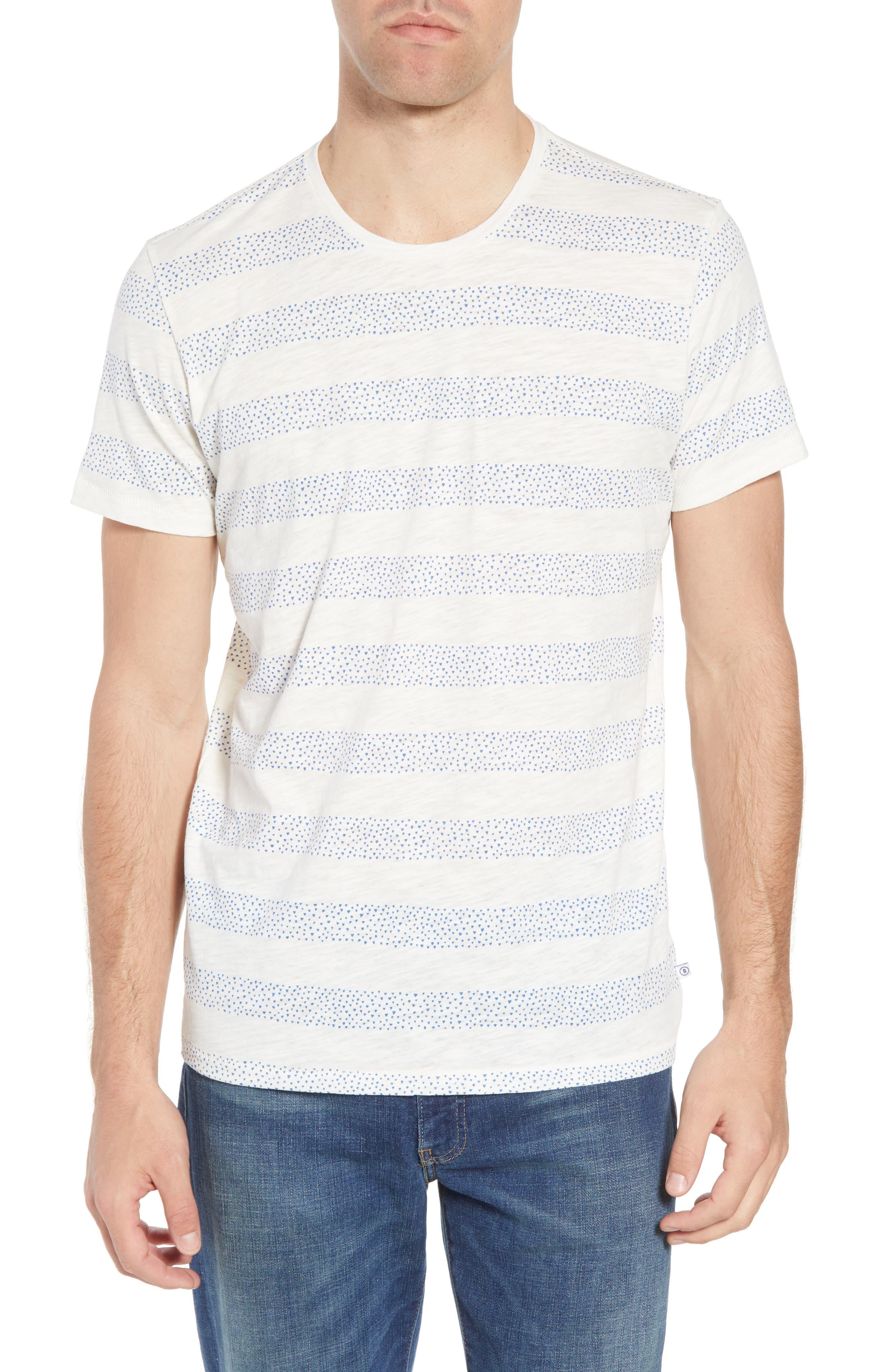 Stripe Slub T-Shirt,                         Main,                         color,