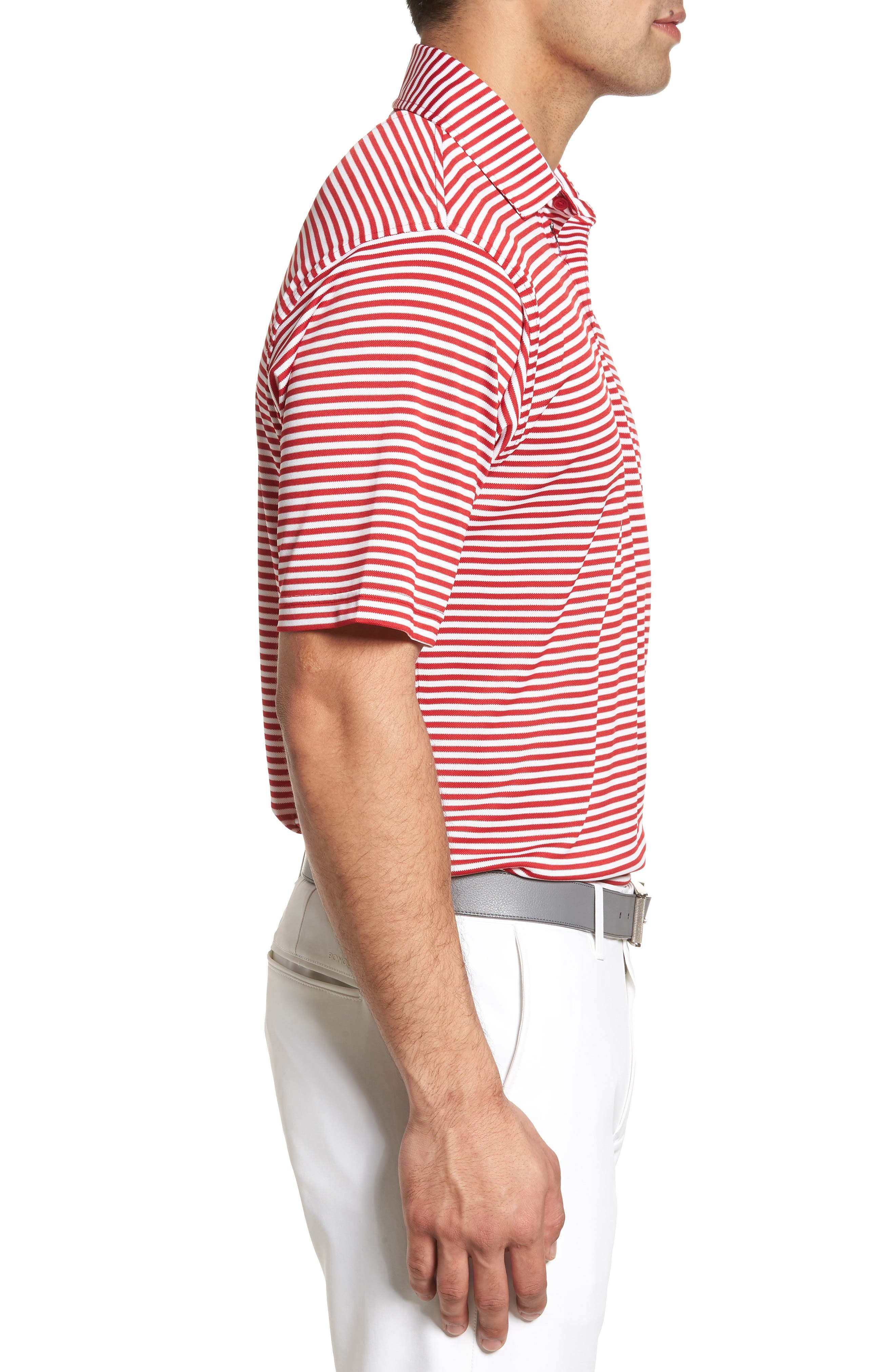 XH2O Feed Stripe Stretch Golf Polo,                             Alternate thumbnail 41, color,