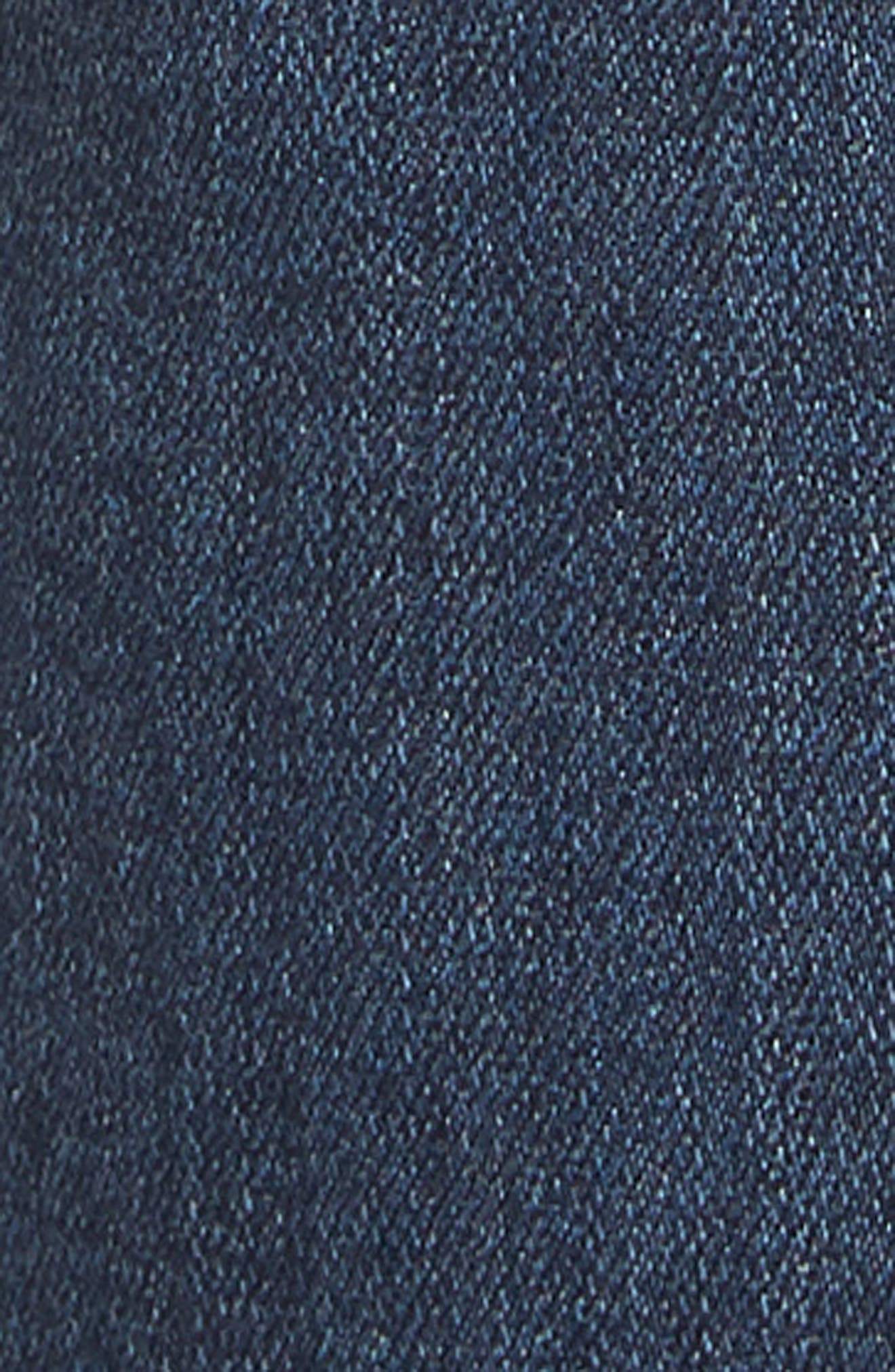 Transcend - Lennox Slim Fit Jeans,                             Alternate thumbnail 5, color,                             GRAMMERCY
