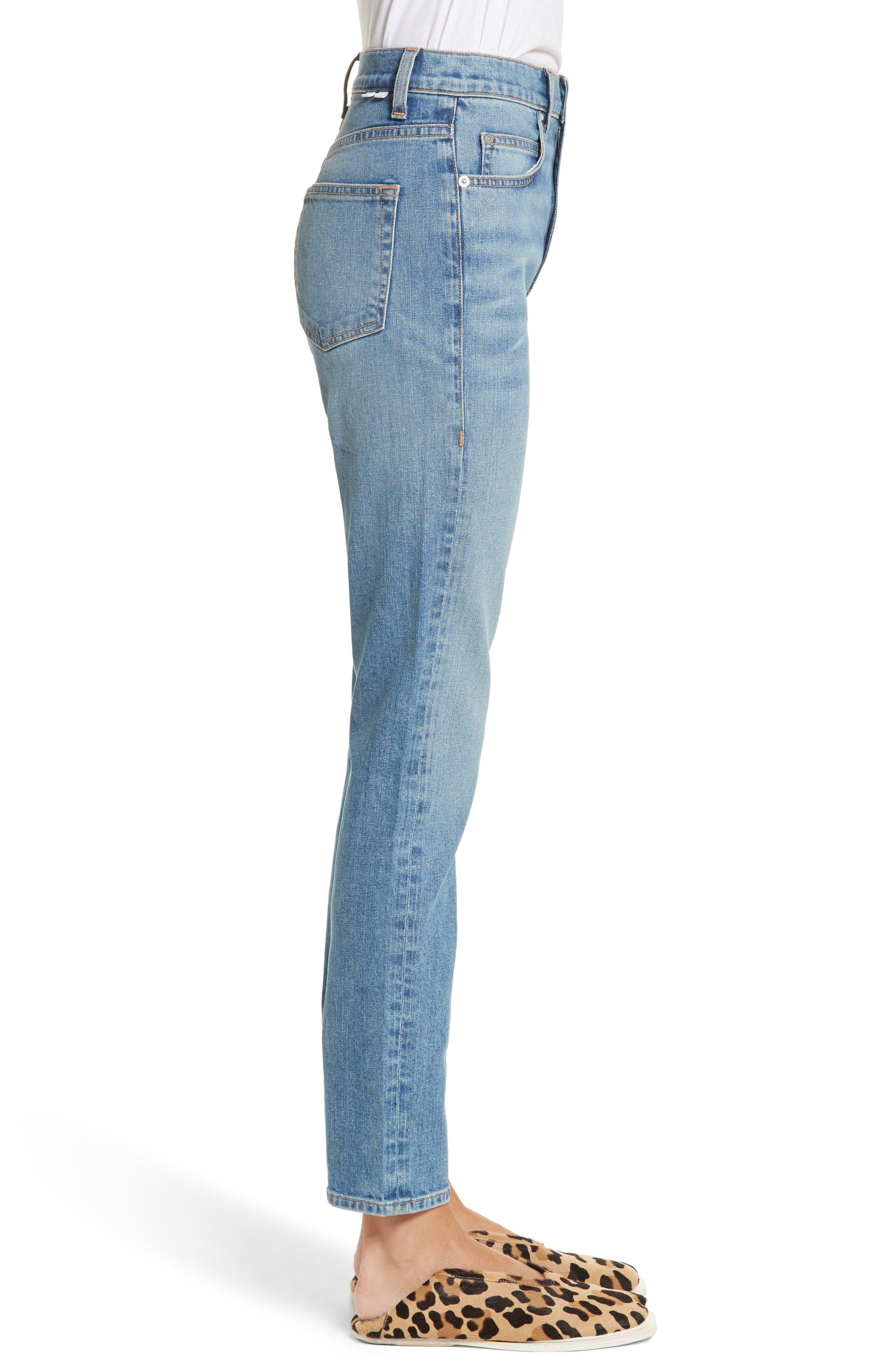 PSWL Straight Leg Jeans,                             Alternate thumbnail 3, color,                             428