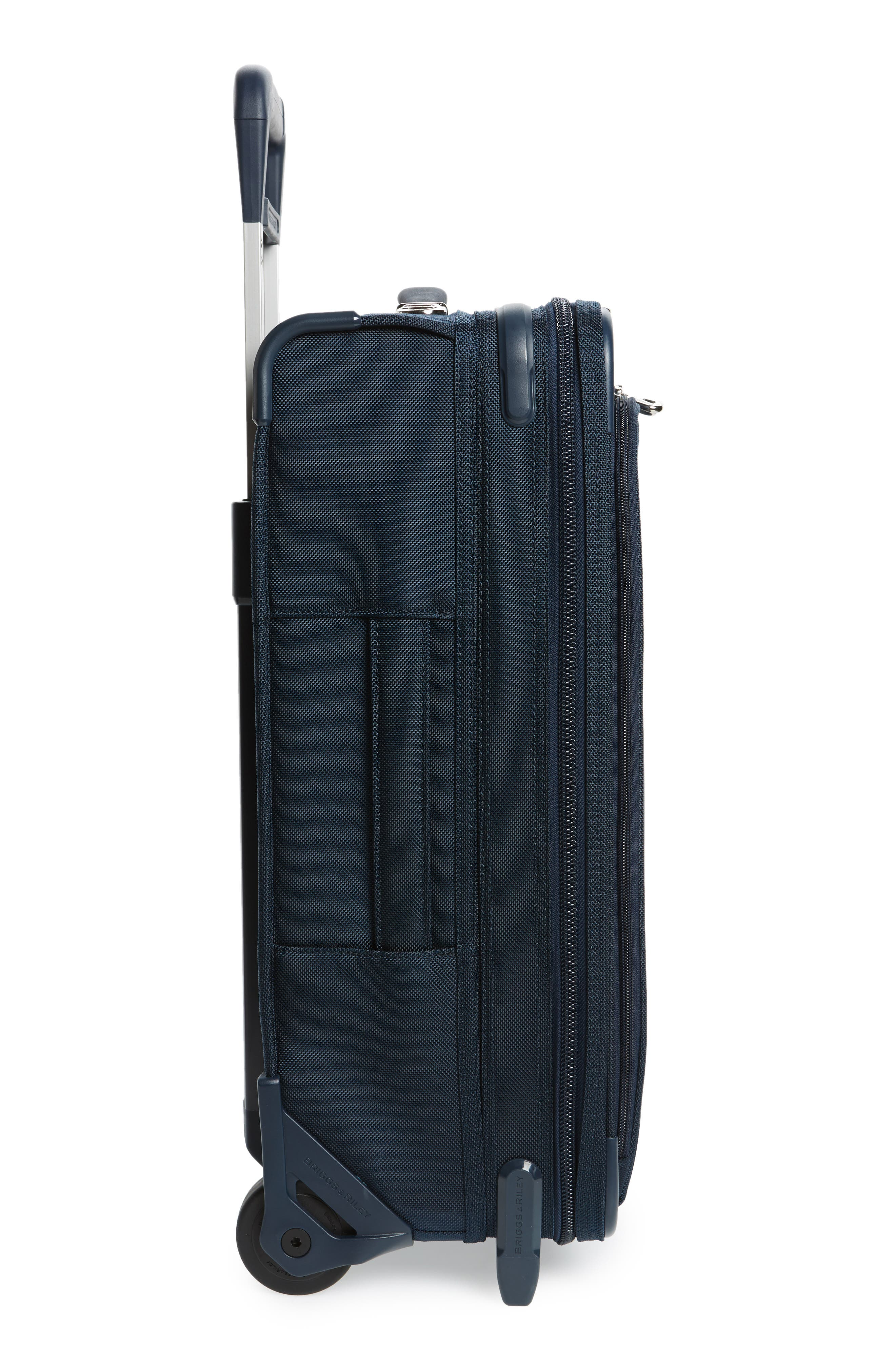 Baseline 22-Inch Wheeled Domestic Carry-On,                             Alternate thumbnail 3, color,                             NAVY