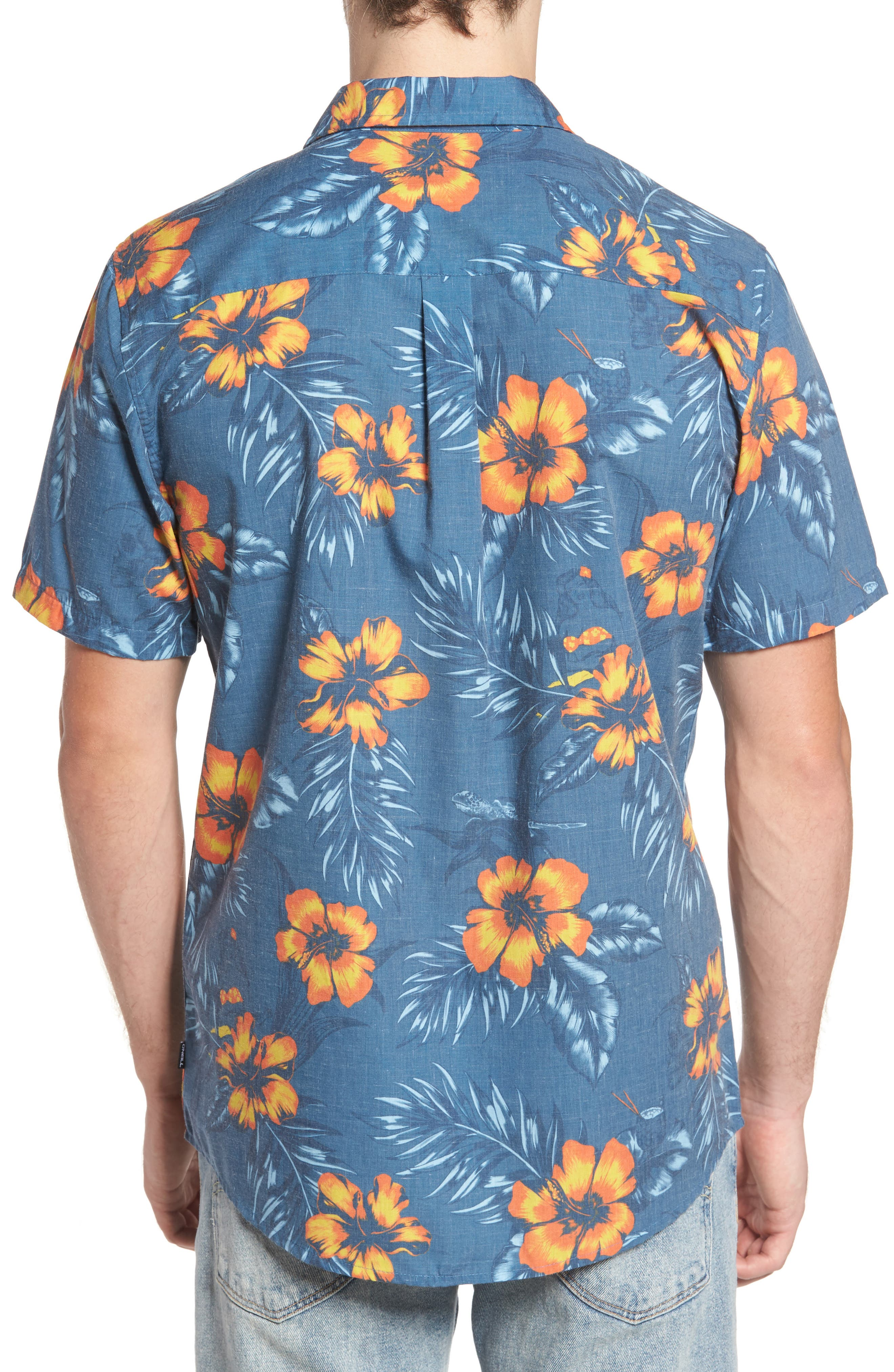 Ala Moana Floral Sport Shirt,                             Alternate thumbnail 2, color,                             439