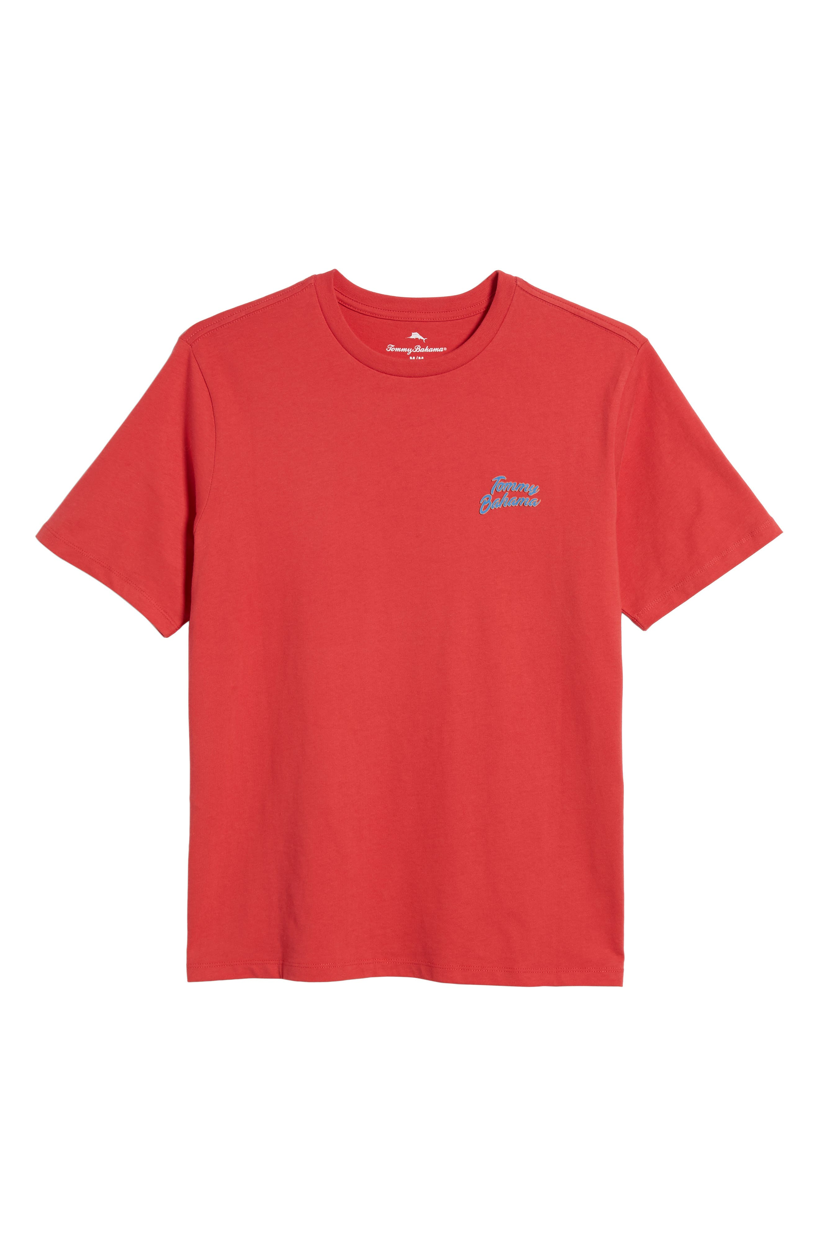 Thirst Base Graphic T-Shirt,                             Alternate thumbnail 6, color,                             LUCKY RED
