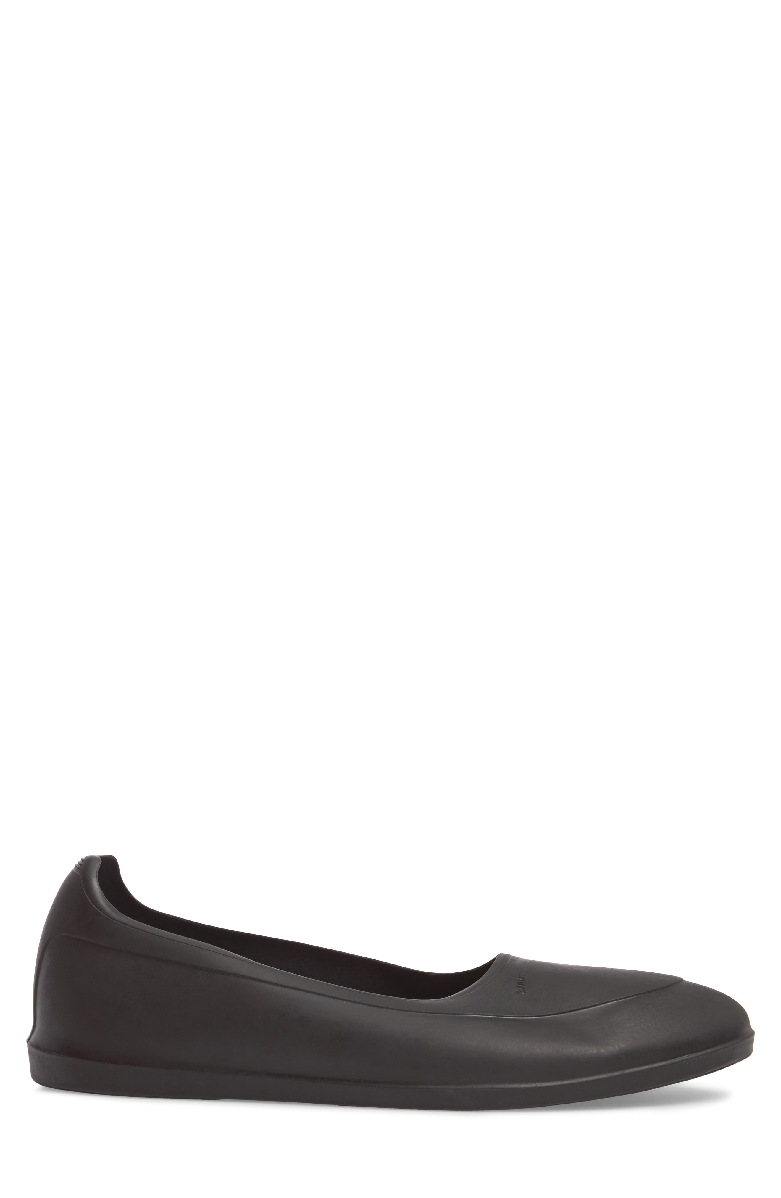 Classic Galosh Slip-On,                             Alternate thumbnail 3, color,                             BLACK TPU AND SYNTHETIC
