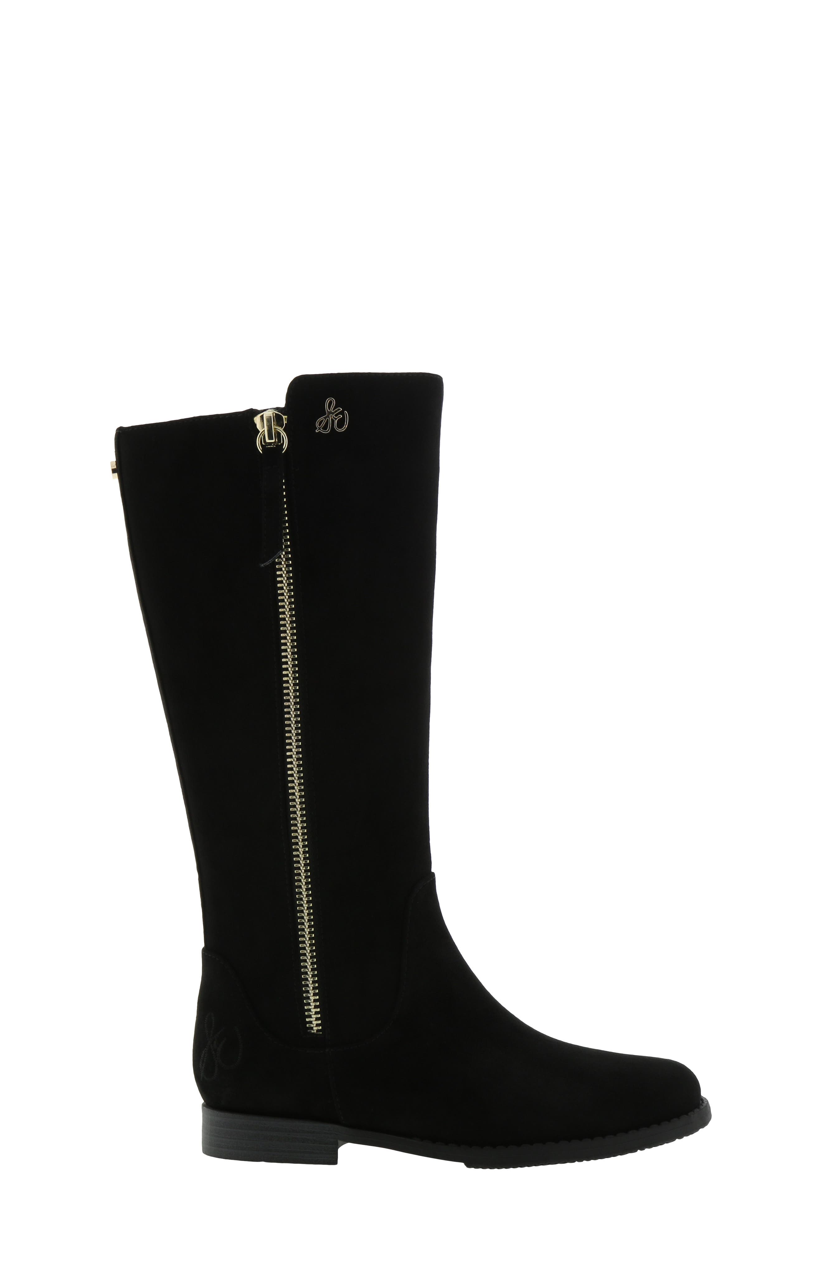 Kendall Bethany Boot,                             Alternate thumbnail 3, color,                             BLACK