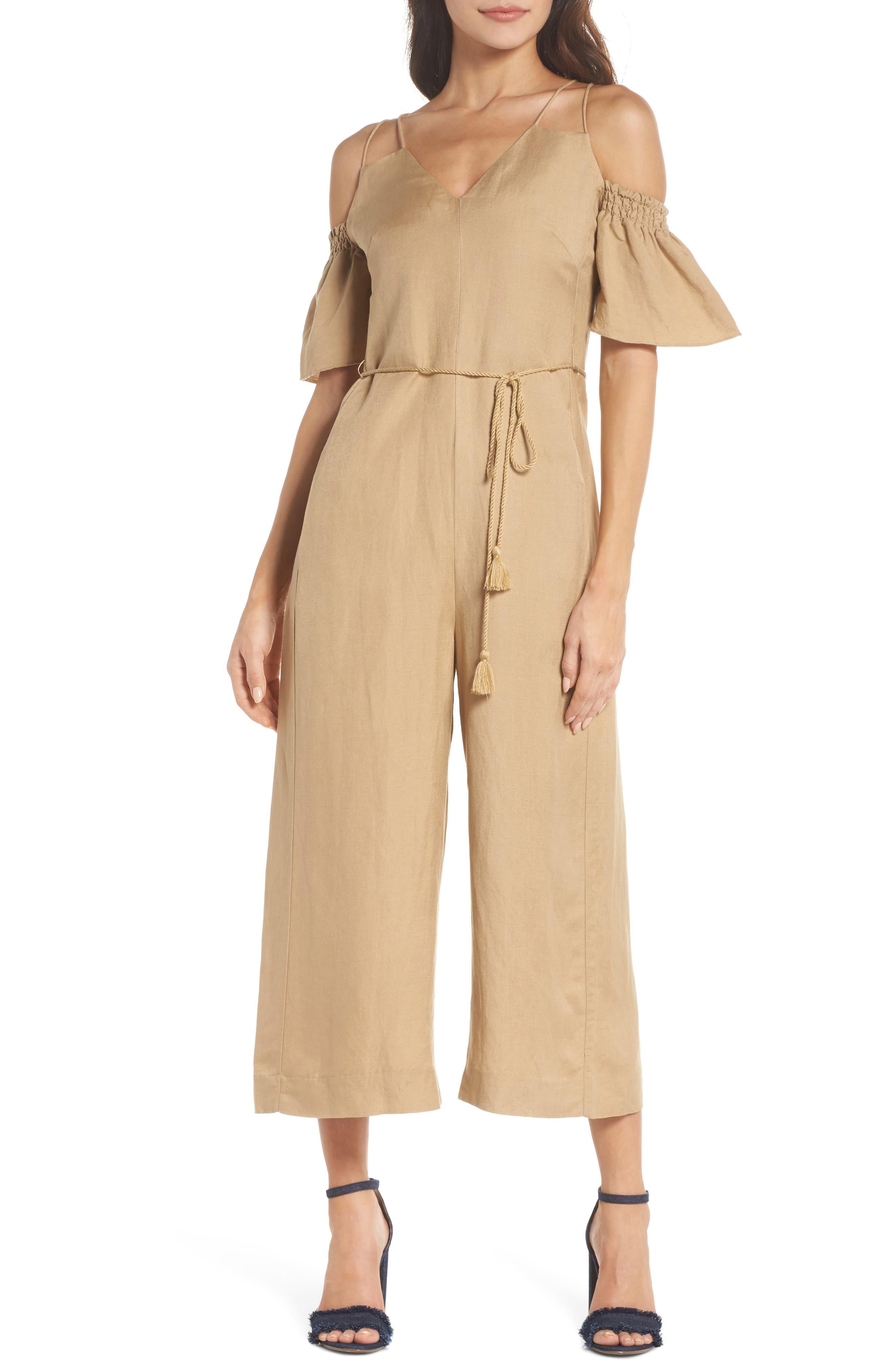 Cold Shoulder Jumpsuit,                         Main,                         color, 250