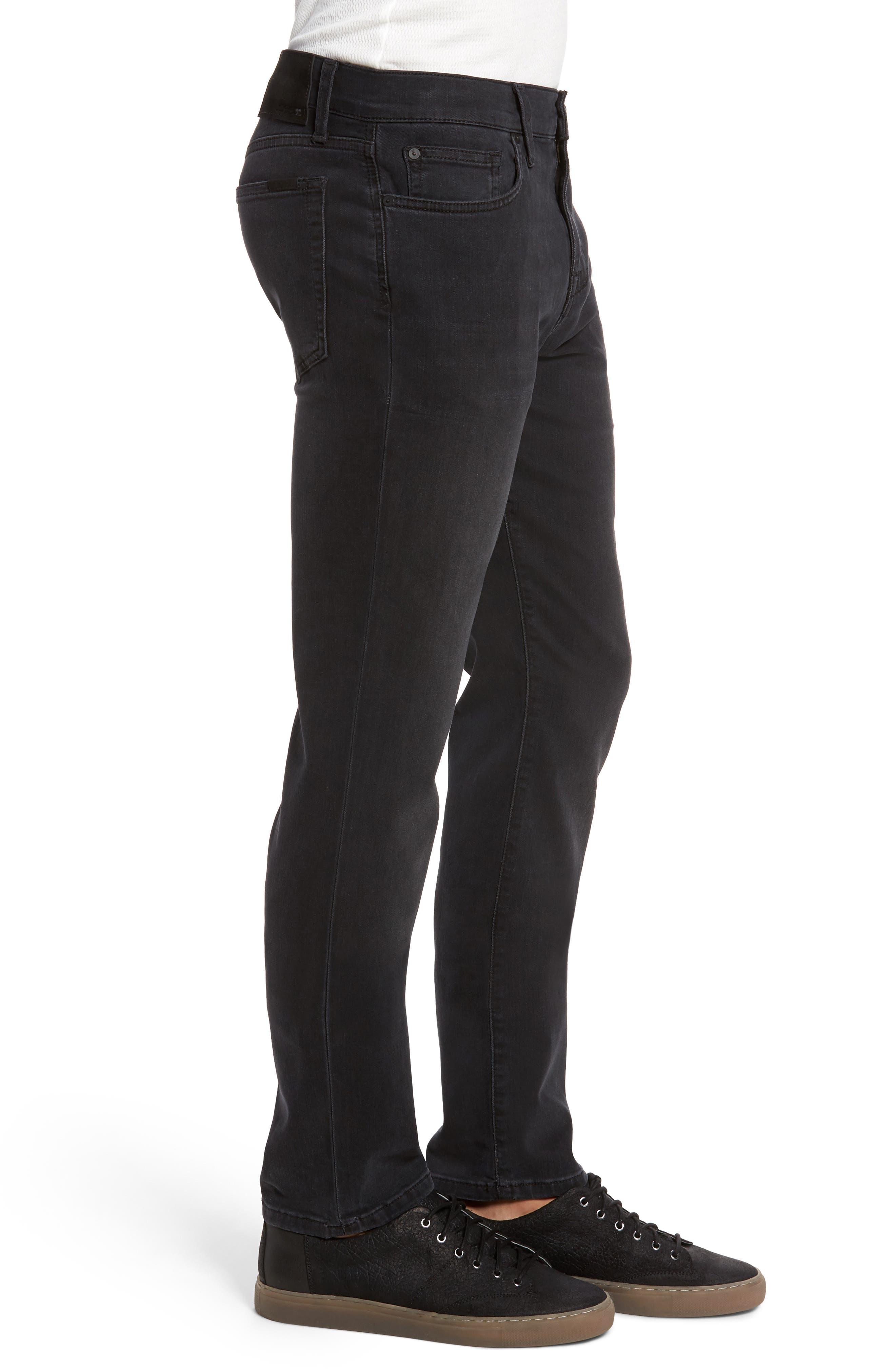 Slim Fit Jeans,                             Alternate thumbnail 3, color,                             001
