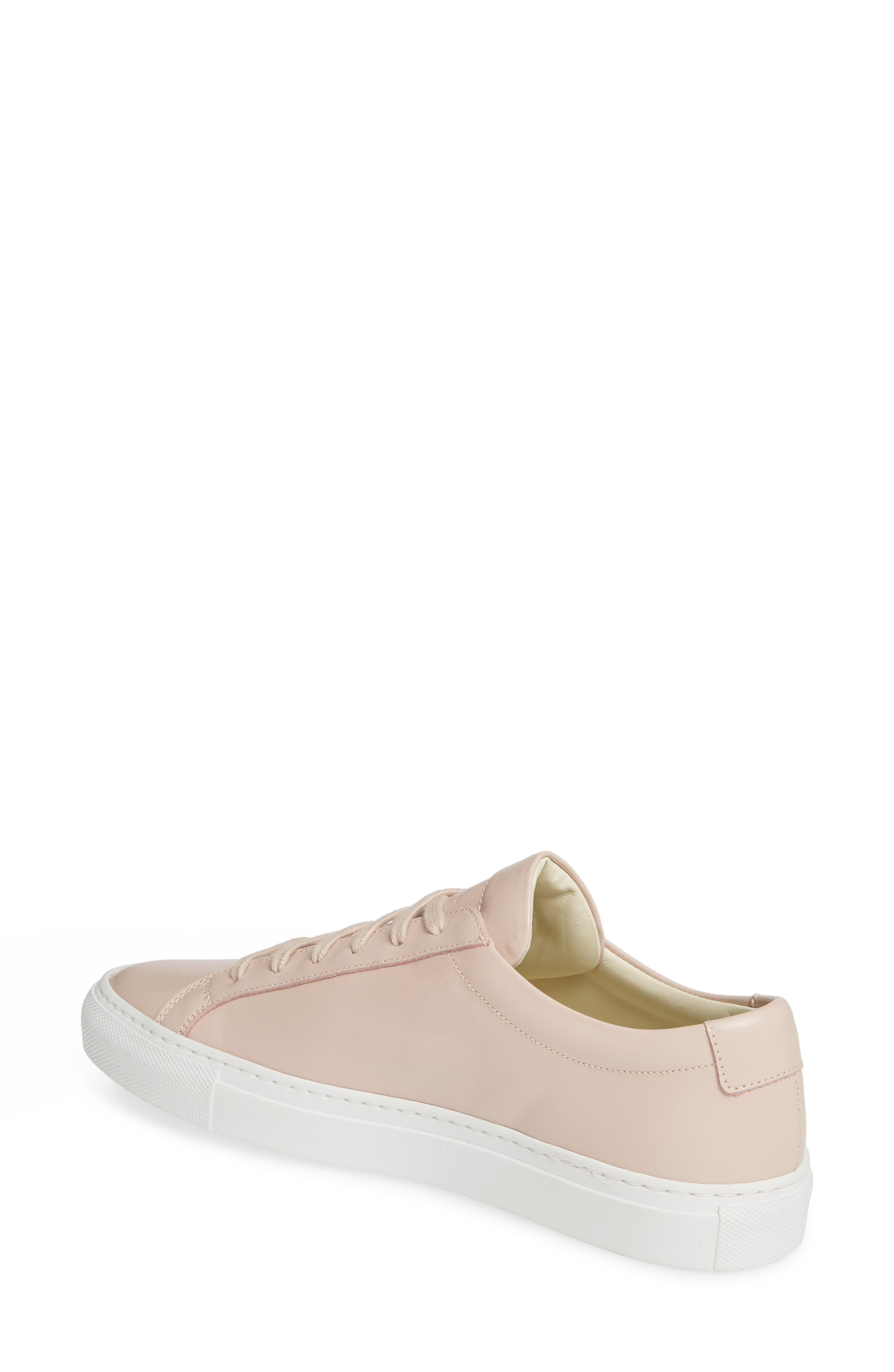 COMMON PROJECTS,                             Original Achilles Sneaker,                             Alternate thumbnail 2, color,                             BLUSH