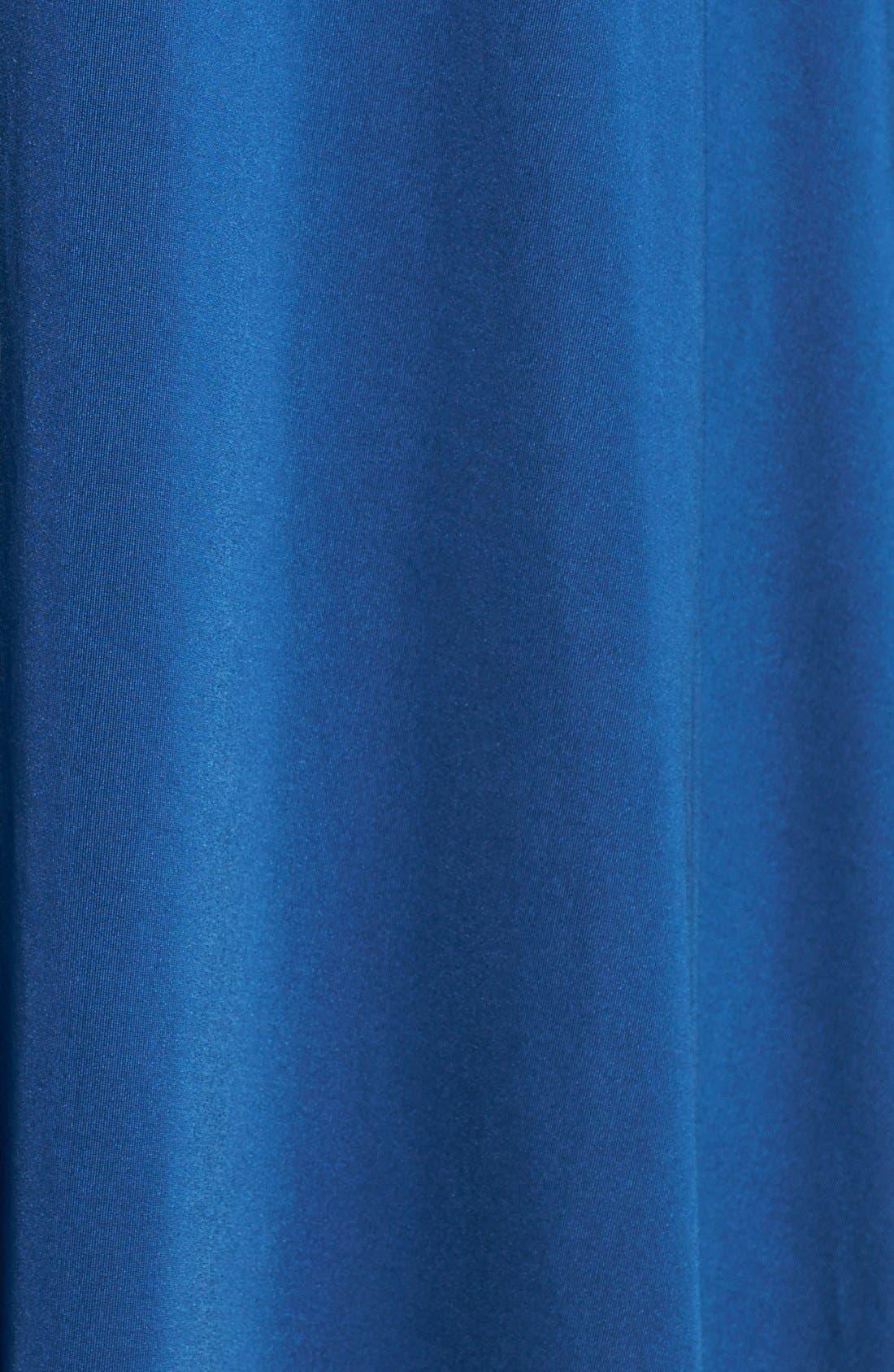 Convertible Wrap Tie Surplice Jersey Gown,                             Alternate thumbnail 43, color,