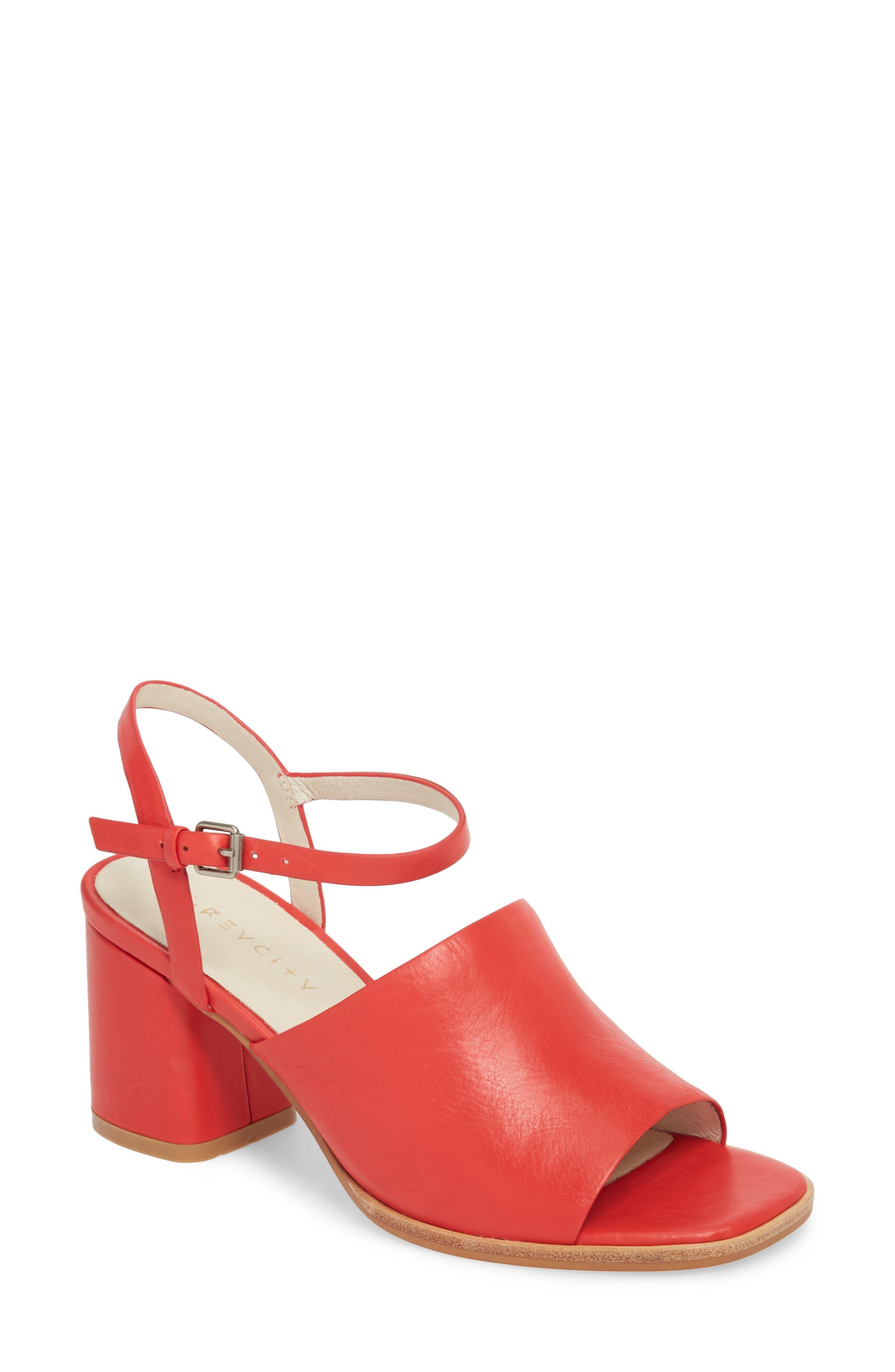 Renae Sandal,                         Main,                         color, RED