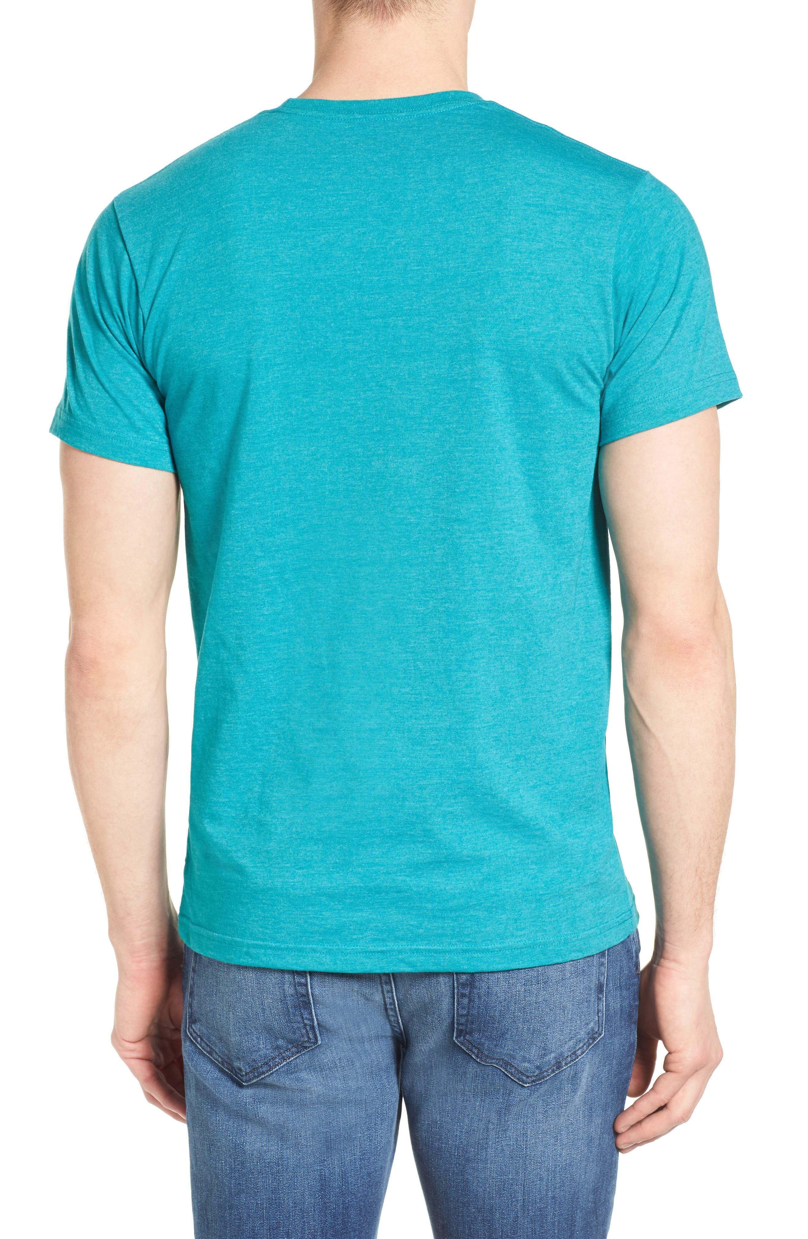 'Fitz Roy Crest' Slim Fit Organic Cotton Blend T-Shirt,                             Alternate thumbnail 14, color,