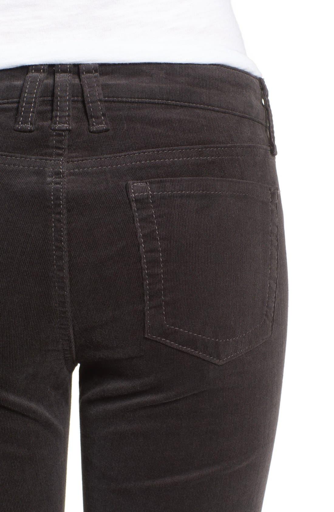 'Diana' Stretch Corduroy Skinny Pants,                             Alternate thumbnail 207, color,