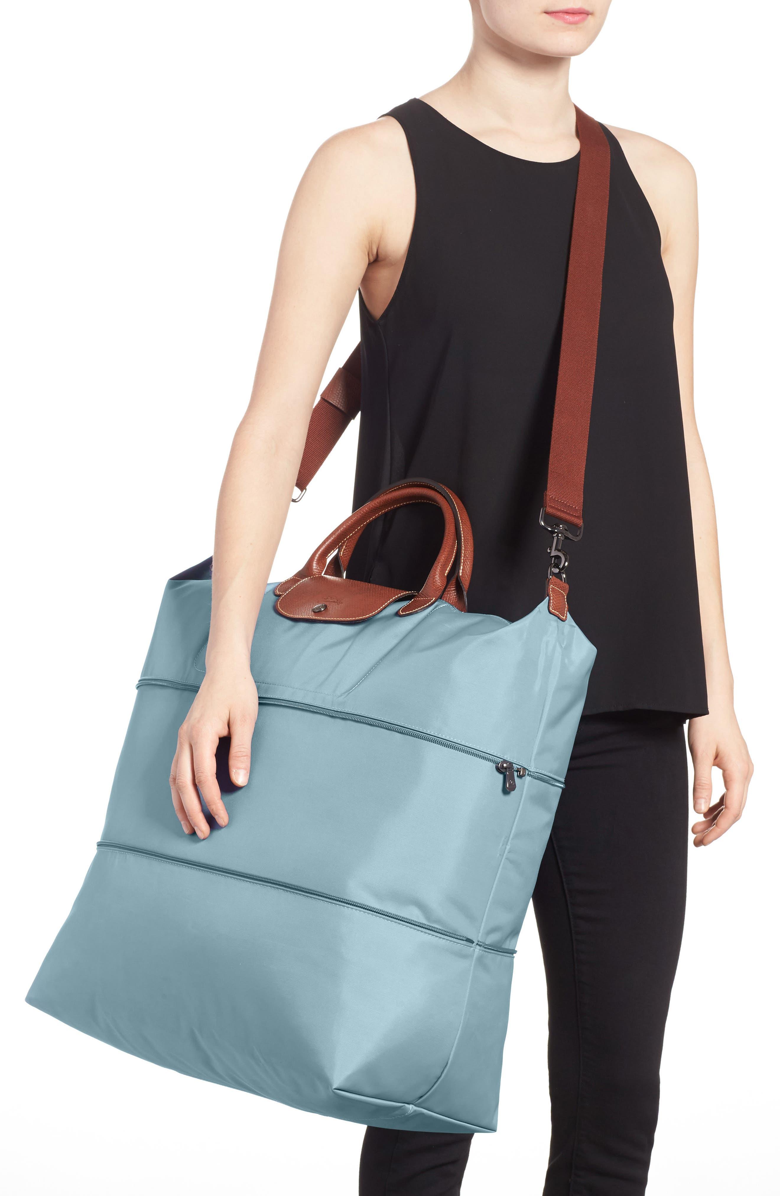 Le Pliage 21-Inch Expandable Travel Bag,                             Alternate thumbnail 2, color,                             ARTICO