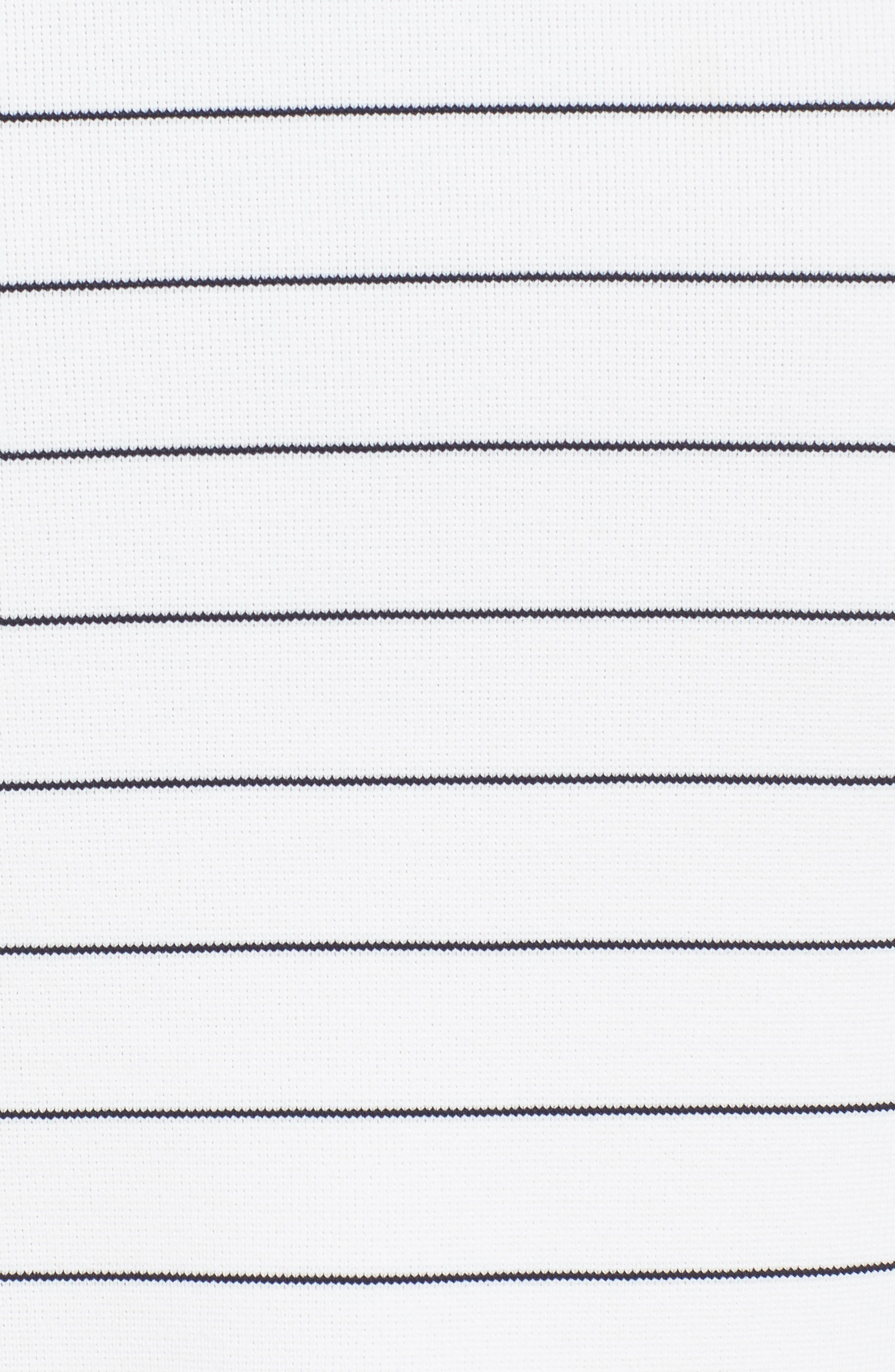 Fairuza Stripe Knit Pencil Skirt,                             Alternate thumbnail 5, color,                             170