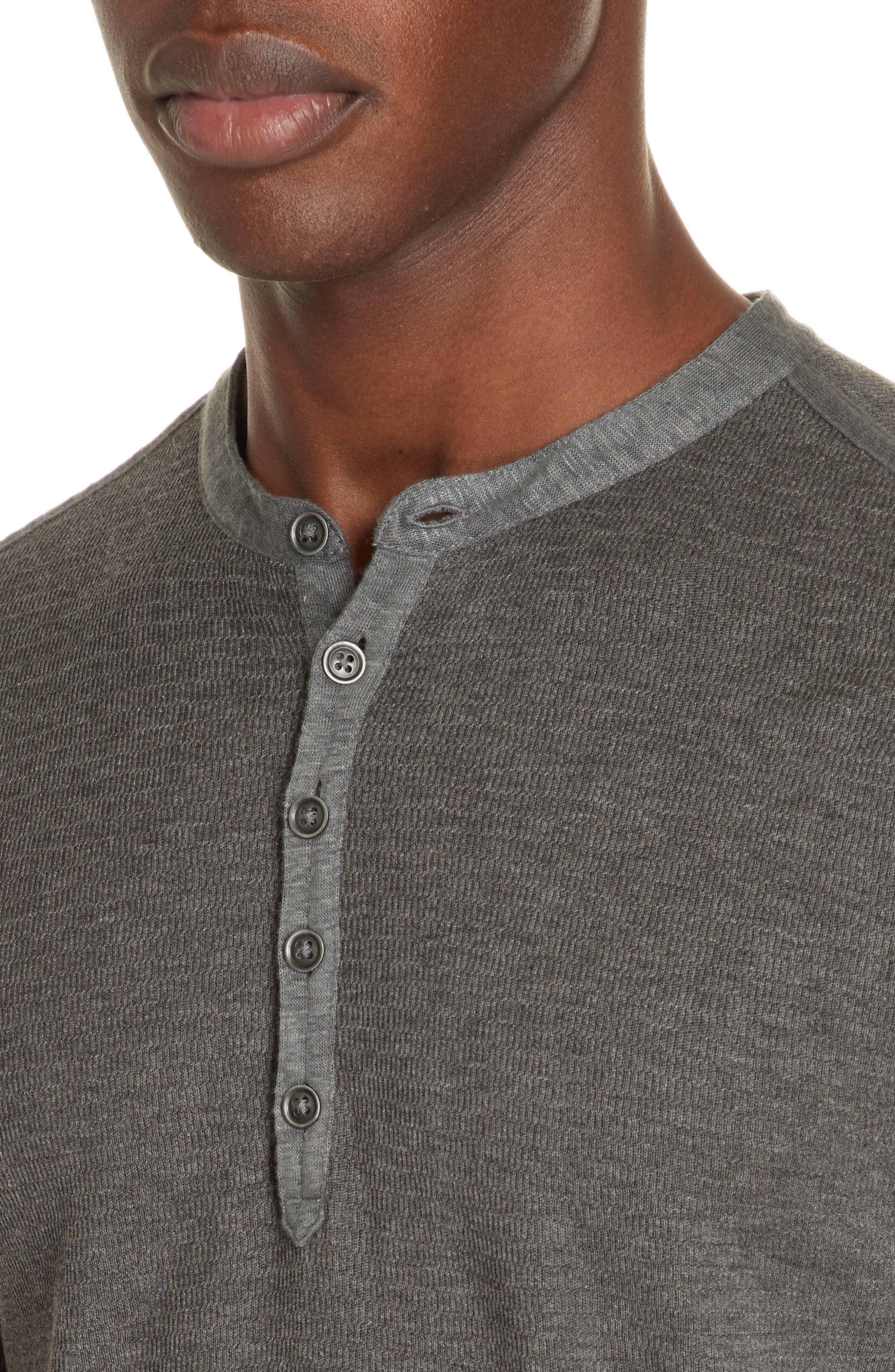 Henley Shirt,                             Alternate thumbnail 2, color,                             001
