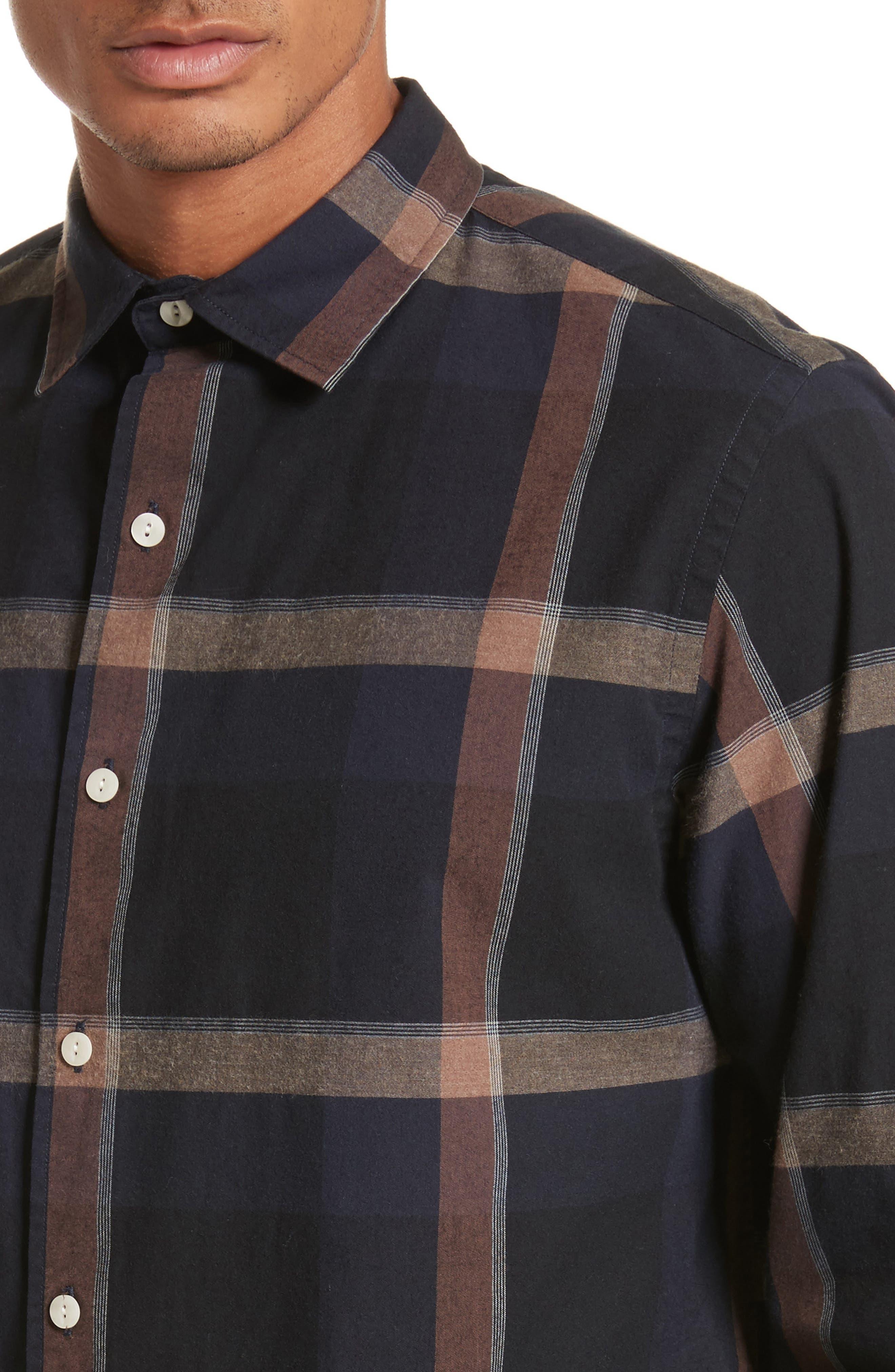 Laslo Check Shirt,                             Alternate thumbnail 4, color,                             225