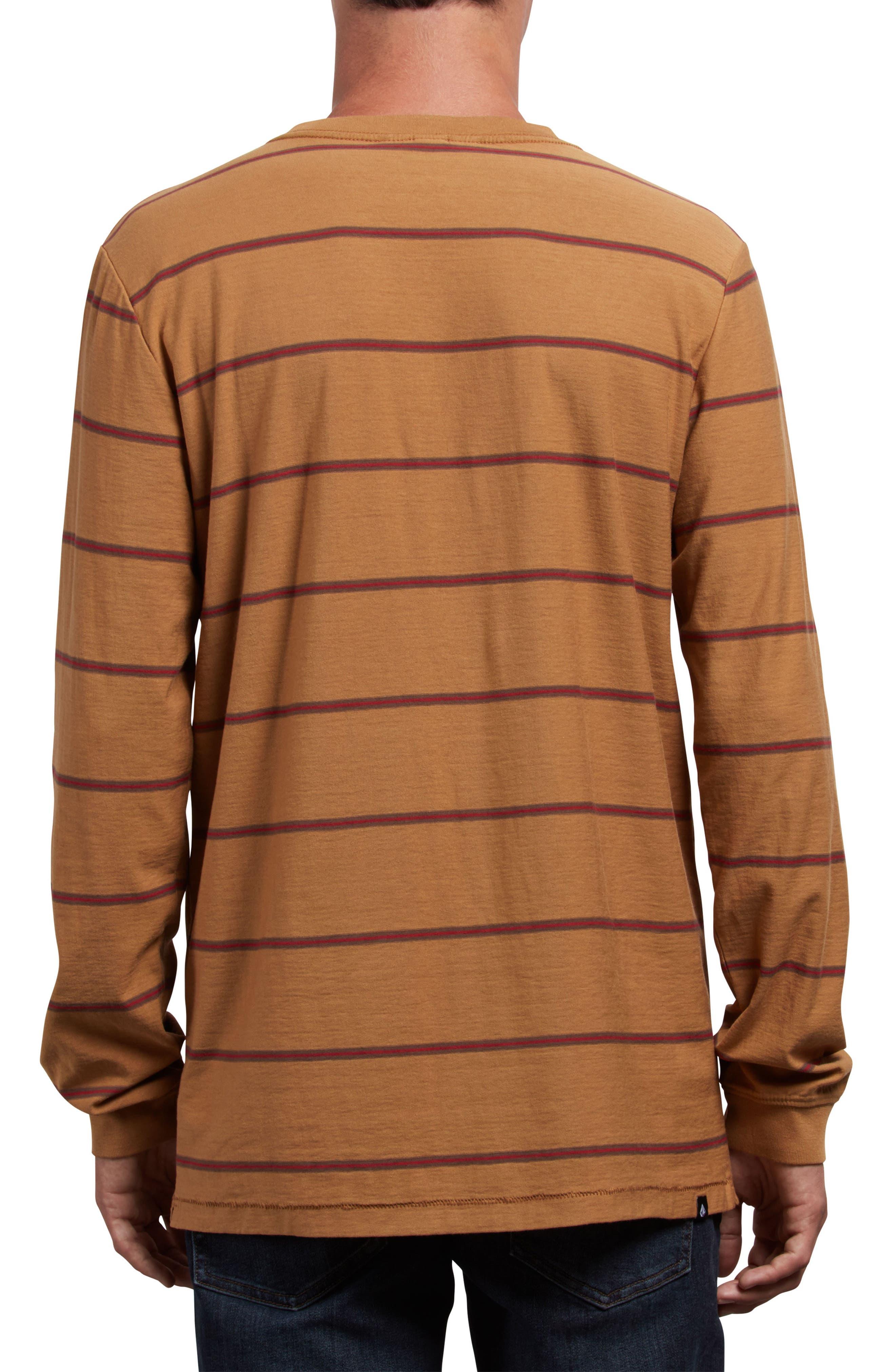 Randal Long Sleeve T-Shirt,                             Alternate thumbnail 2, color,                             OLD GOLD