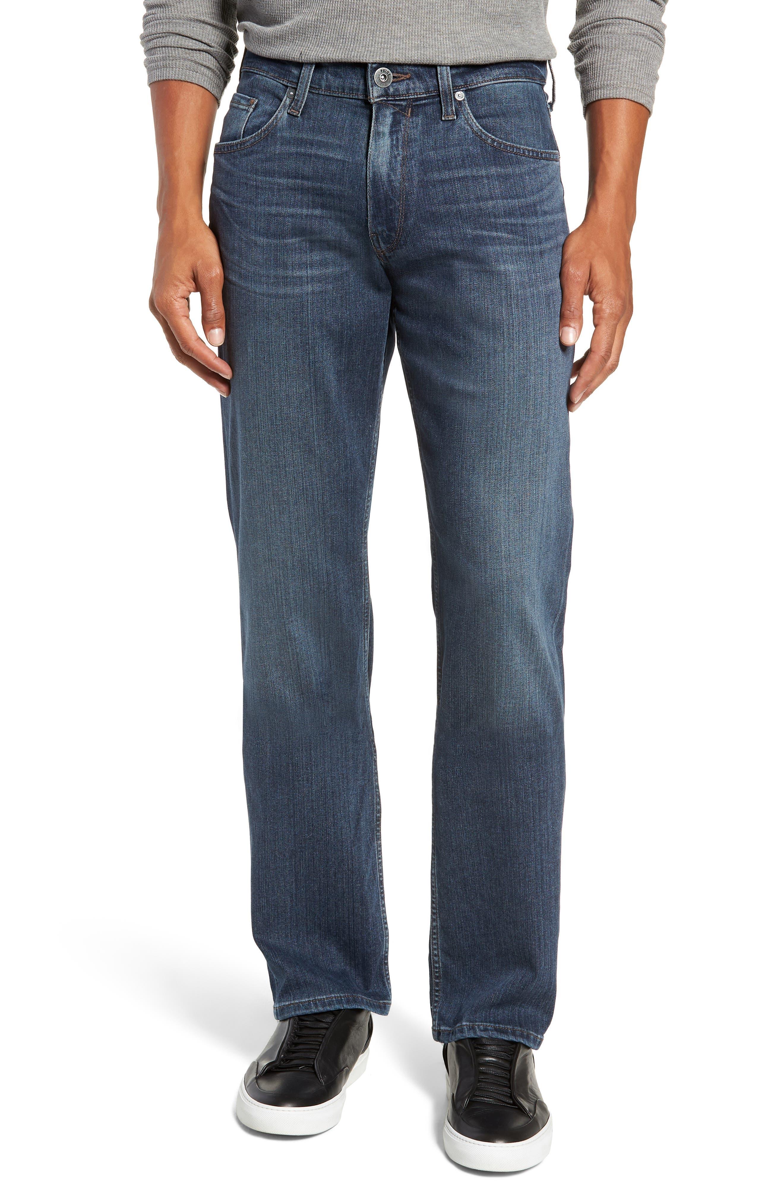 Transcend - Normandie Straight Leg Jeans,                             Main thumbnail 1, color,                             DILLON