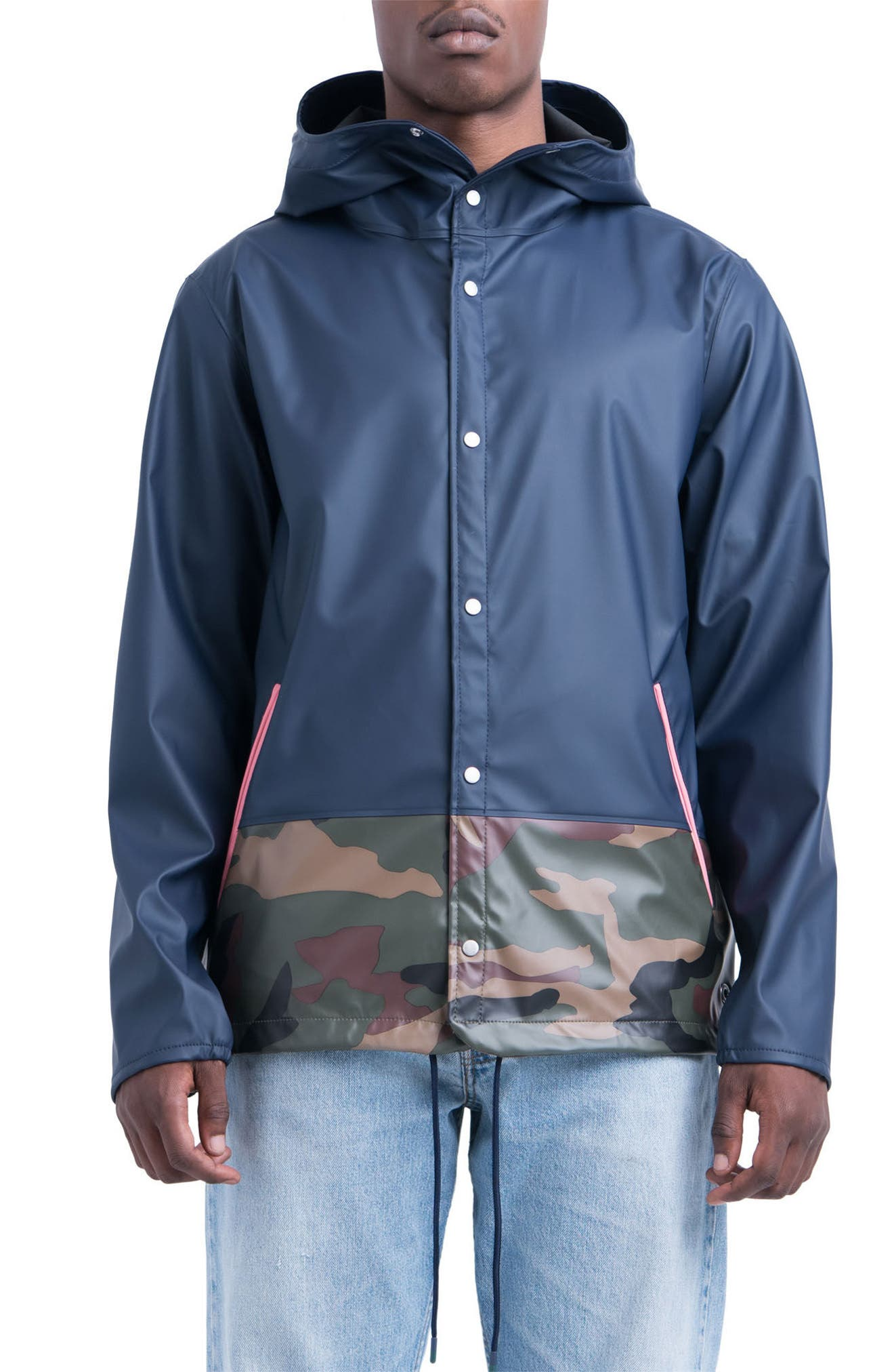 Forecast Hooded Coaches Jacket,                             Main thumbnail 5, color,