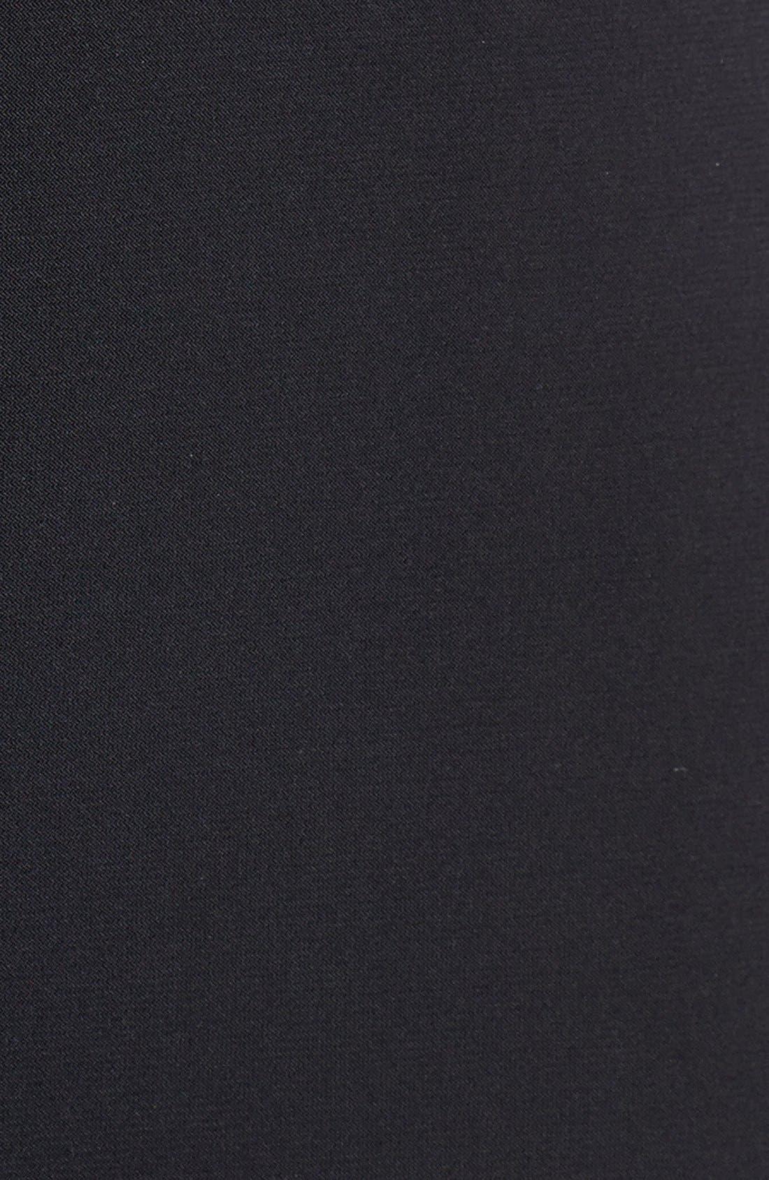 Wide Leg Jersey Jumpsuit,                             Alternate thumbnail 3, color,                             001