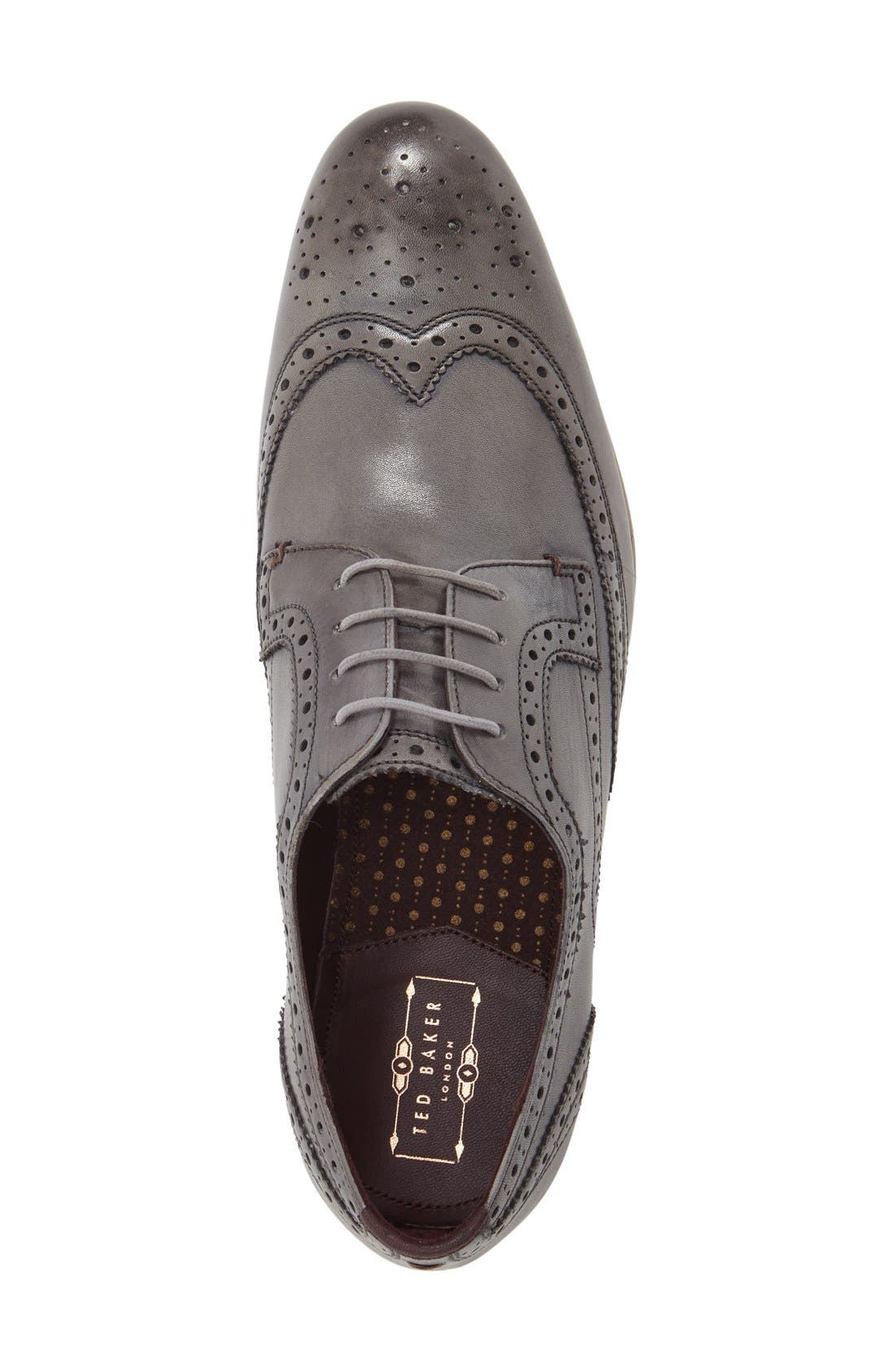 'Gryene' Wingtip Oxford,                             Alternate thumbnail 3, color,                             020