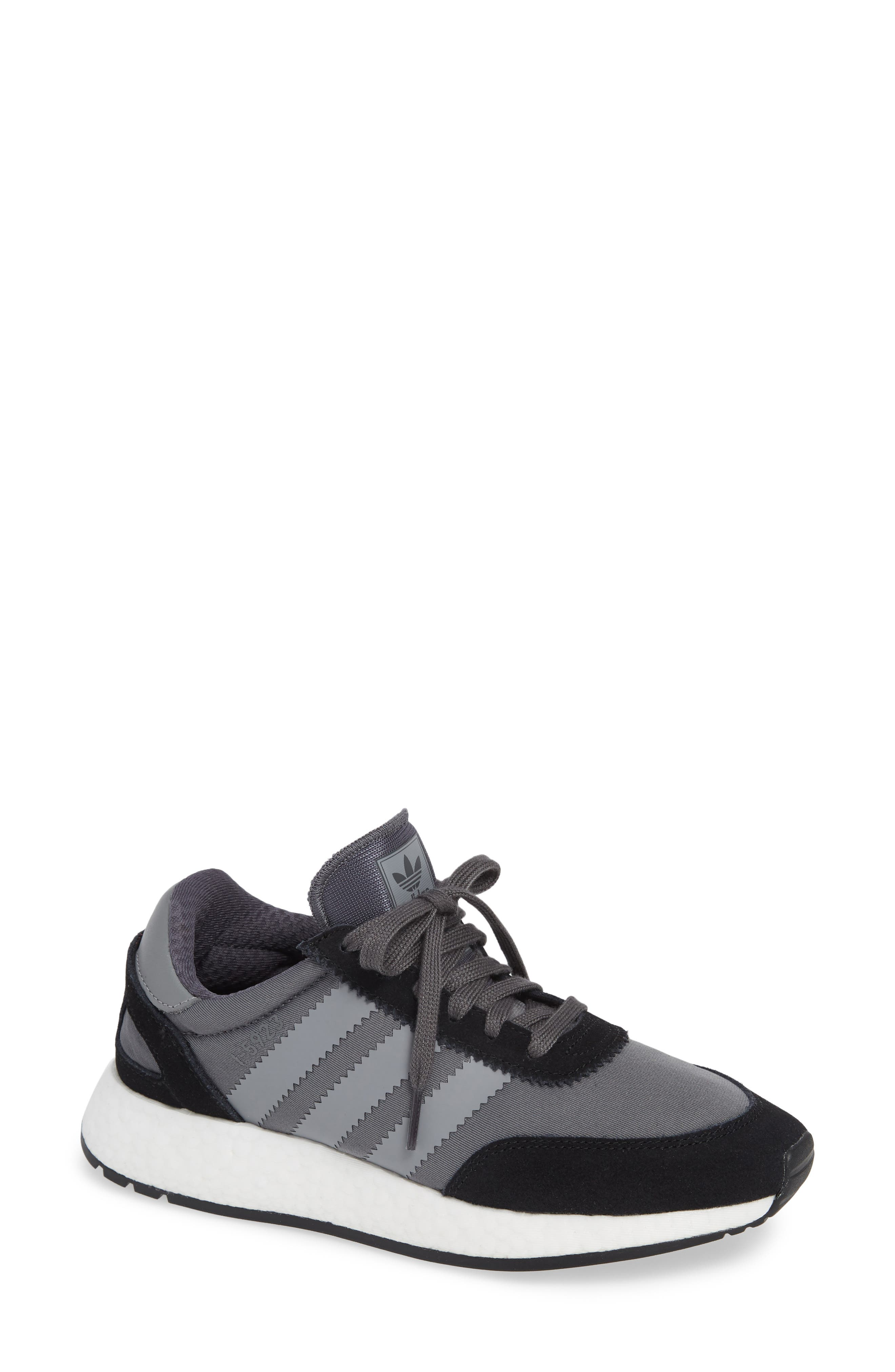 I-5923 Sneaker,                         Main,                         color, BLACK/ GREY THREE/ GREY FIVE