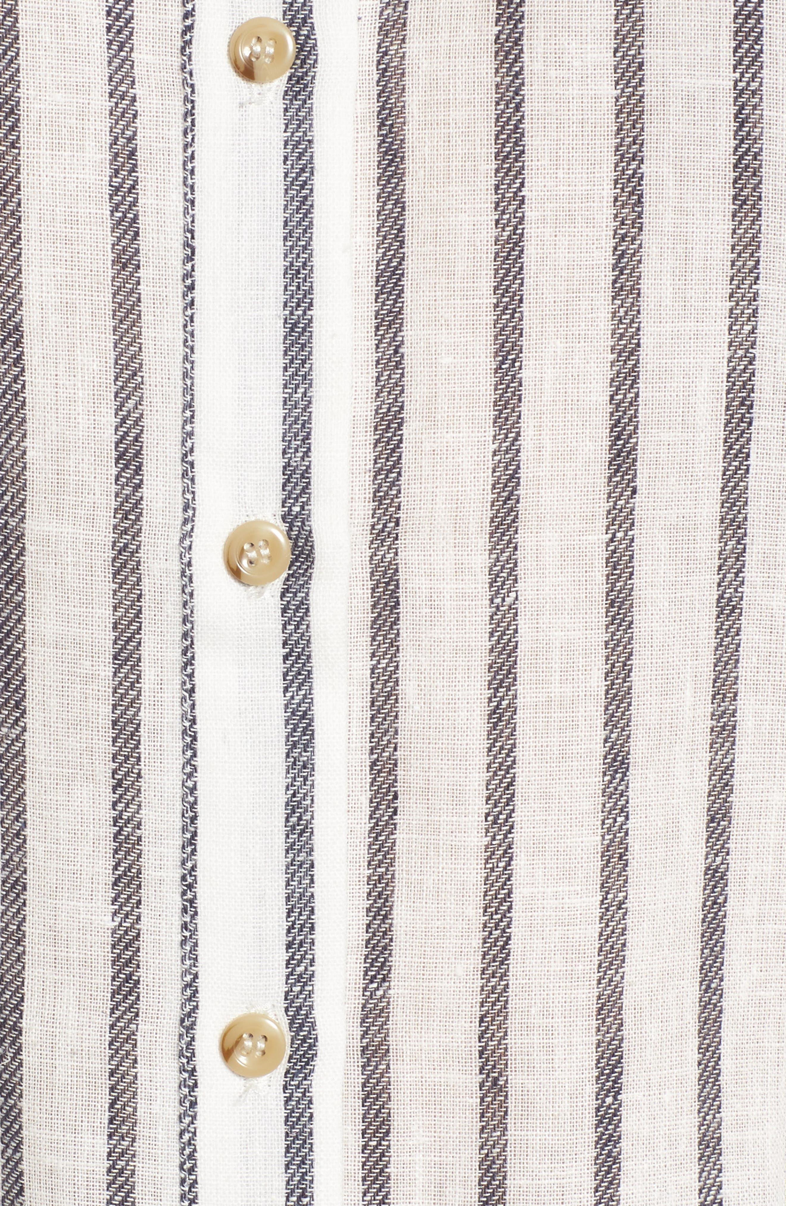 Stripe Off the Shoulder Top,                             Alternate thumbnail 5, color,                             410