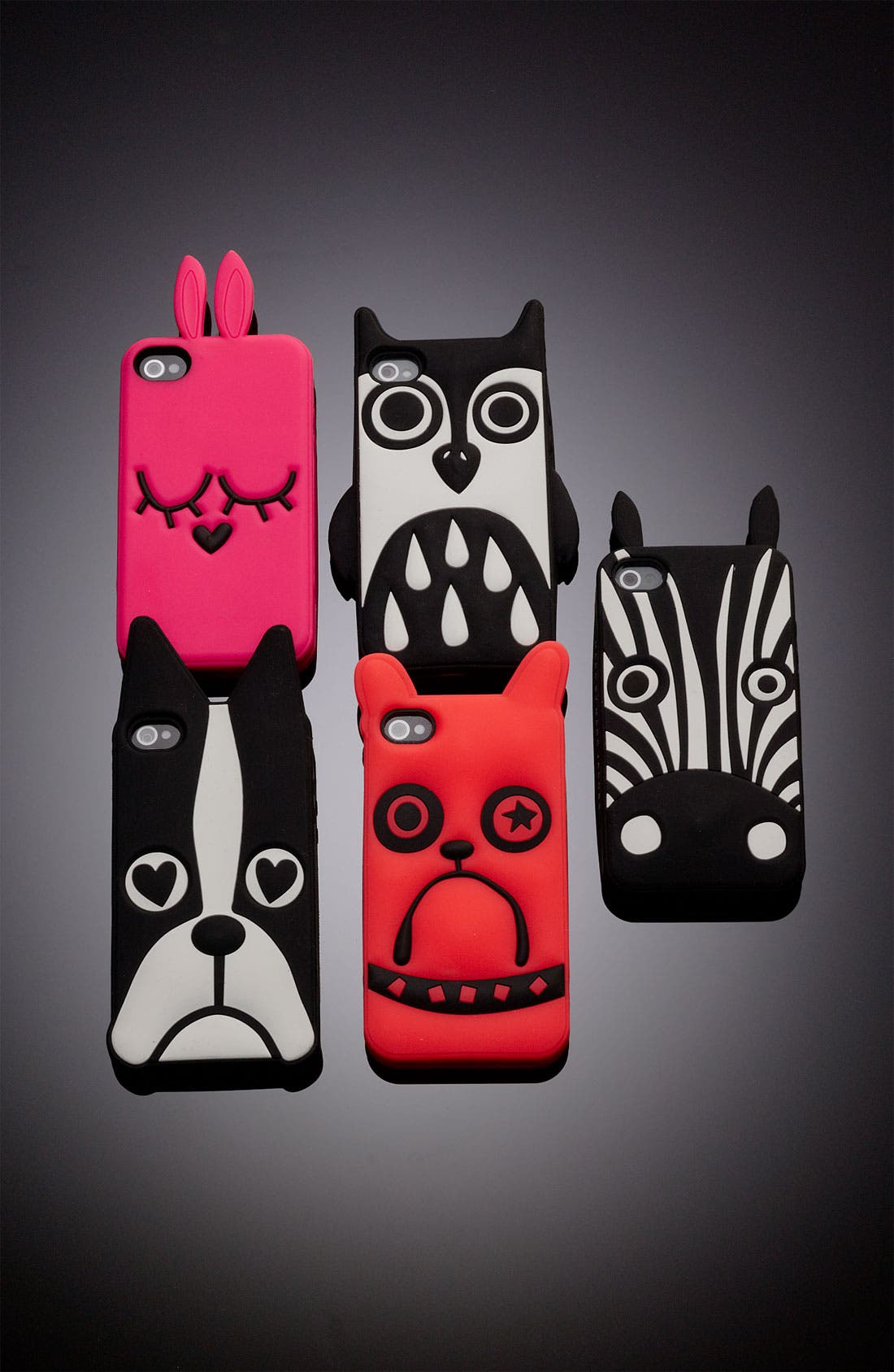 MARC BY MARC JACOBS 'Shorty the Boxer' iPhone 5 & 5S Case,                             Alternate thumbnail 2, color,                             001