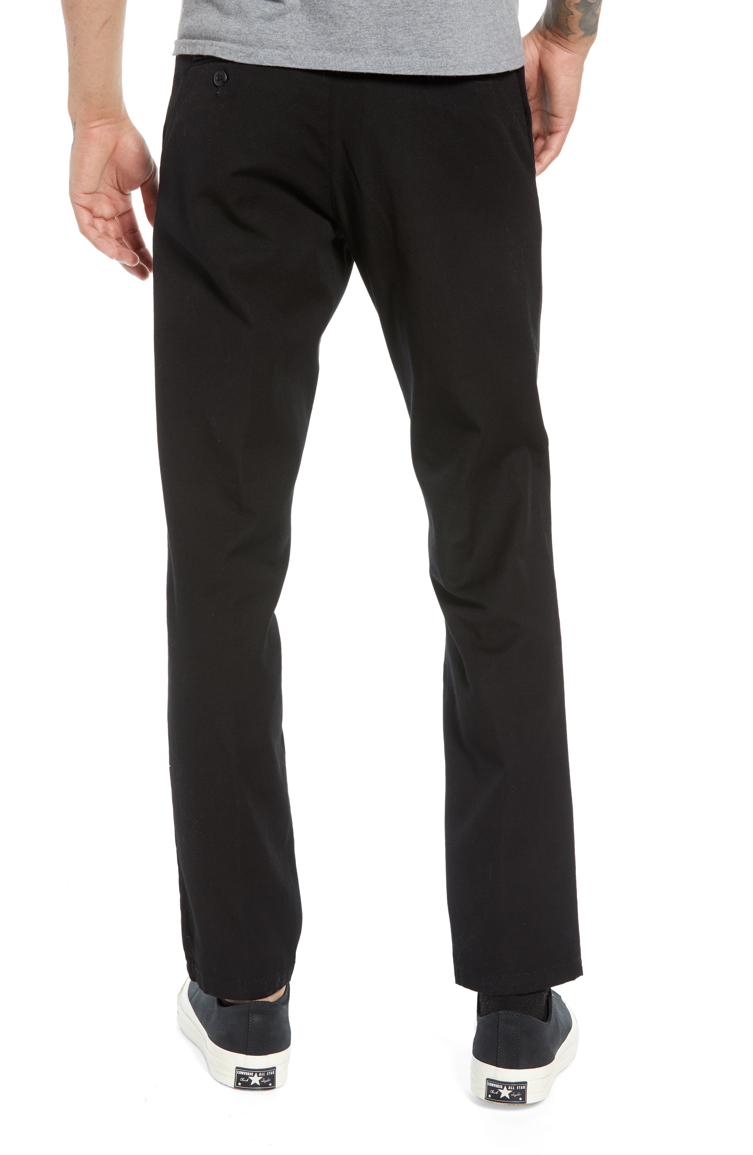 Sid Slim Fit Chinos,                             Alternate thumbnail 2, color,                             001