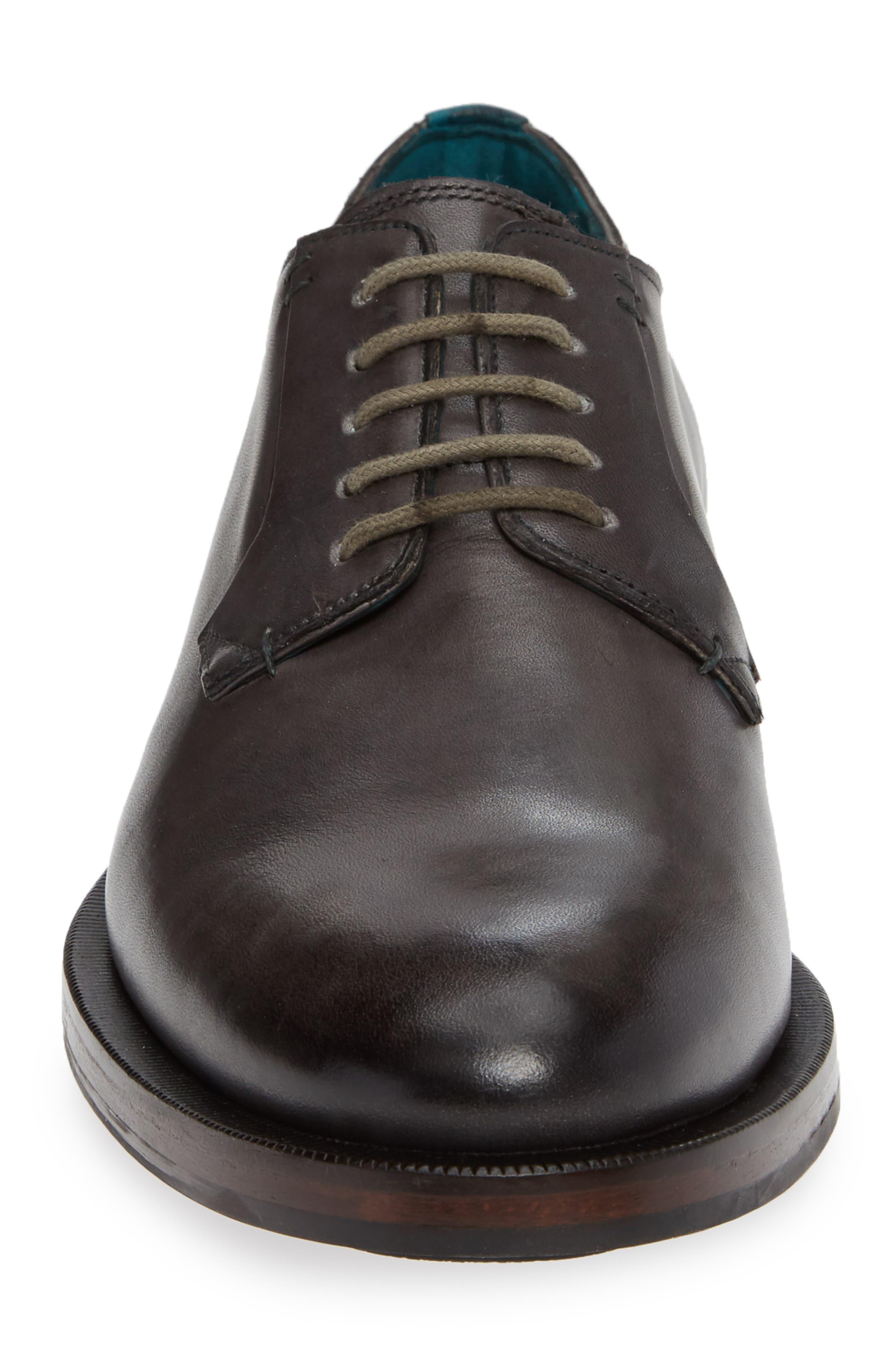 Silice Plain Toe Derby,                             Alternate thumbnail 4, color,                             028