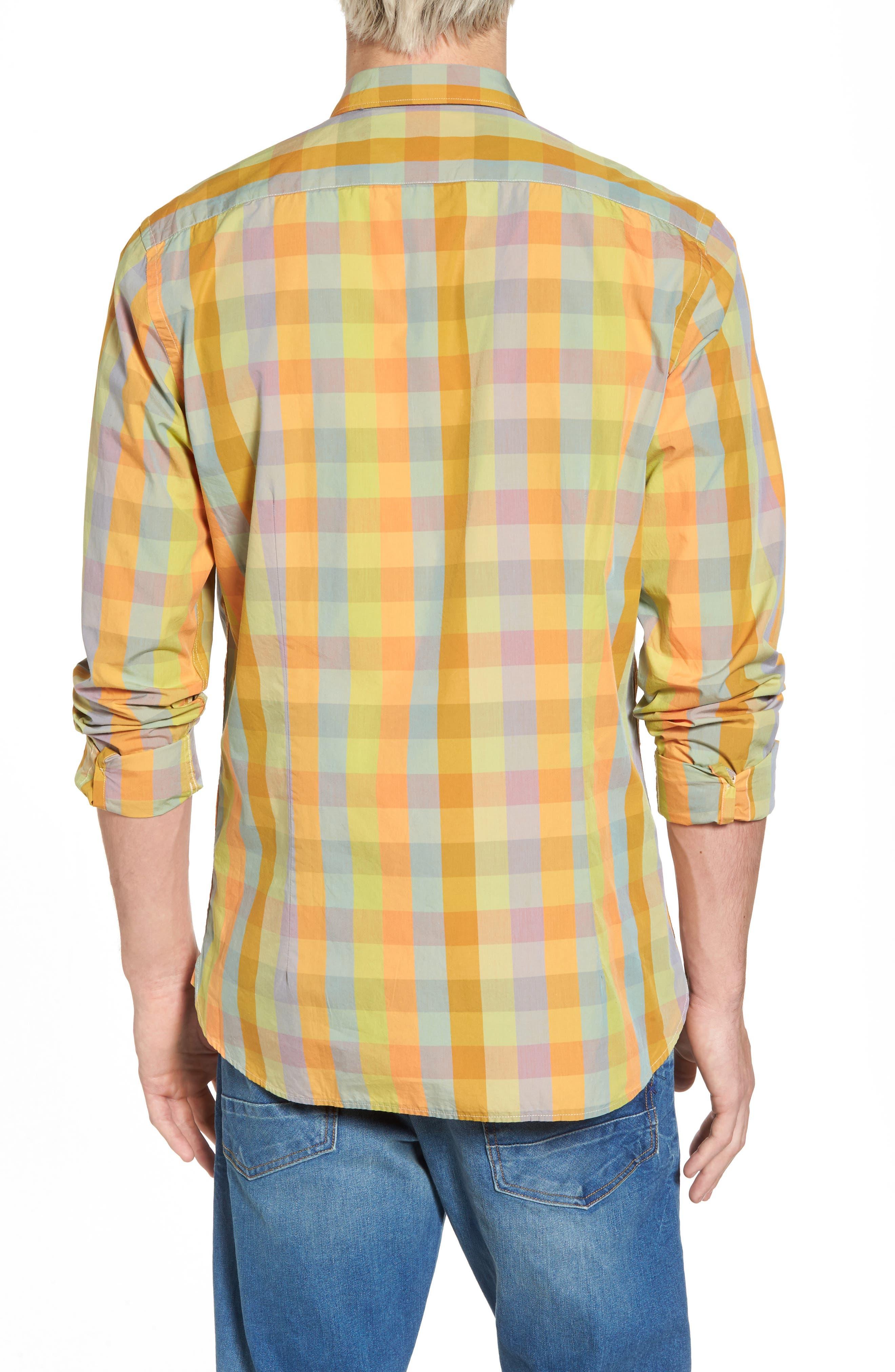 Slim Fit Poplin Shirt,                             Alternate thumbnail 2, color,                             400