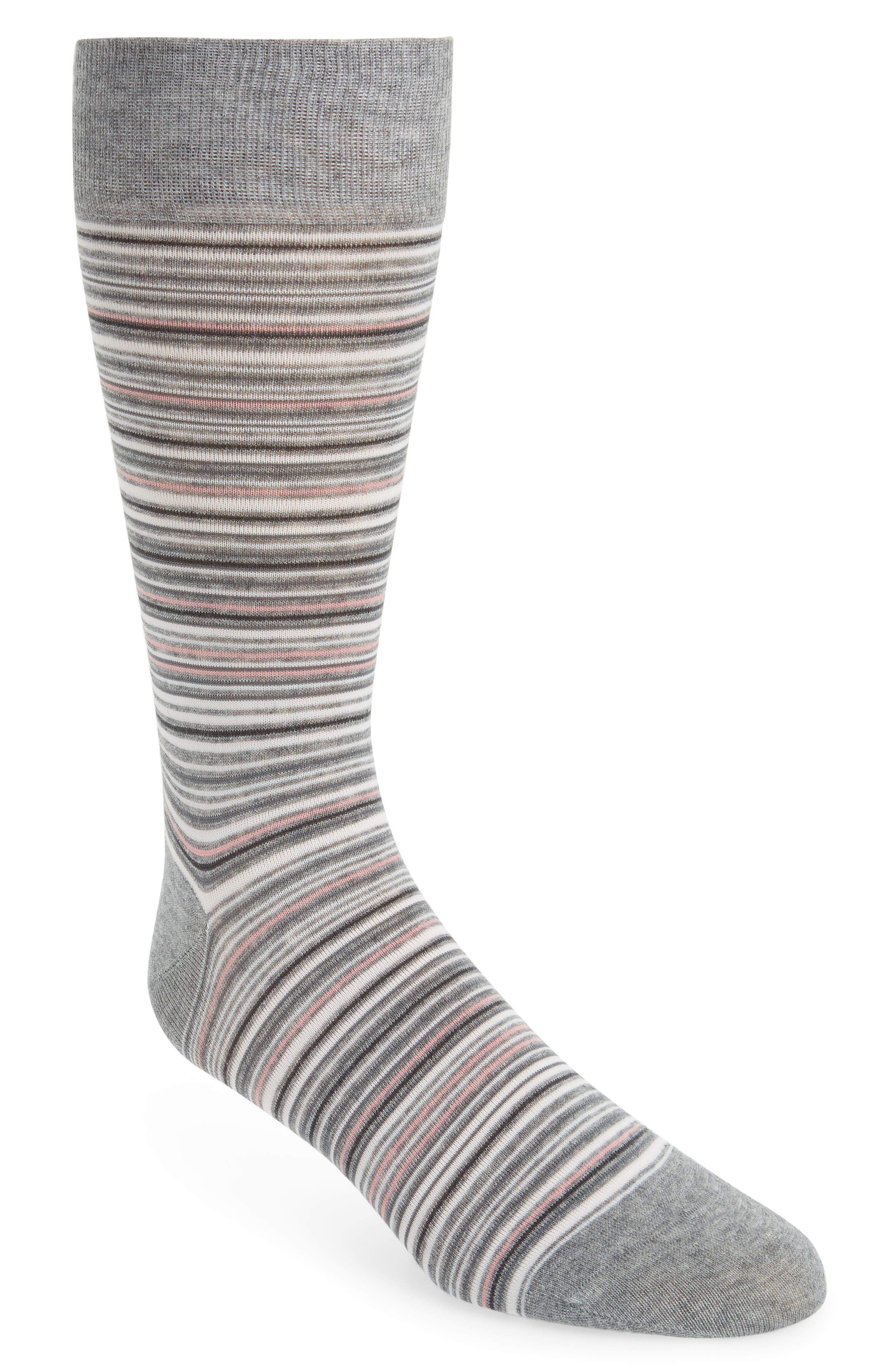 Multistripe Crew Socks,                             Main thumbnail 4, color,