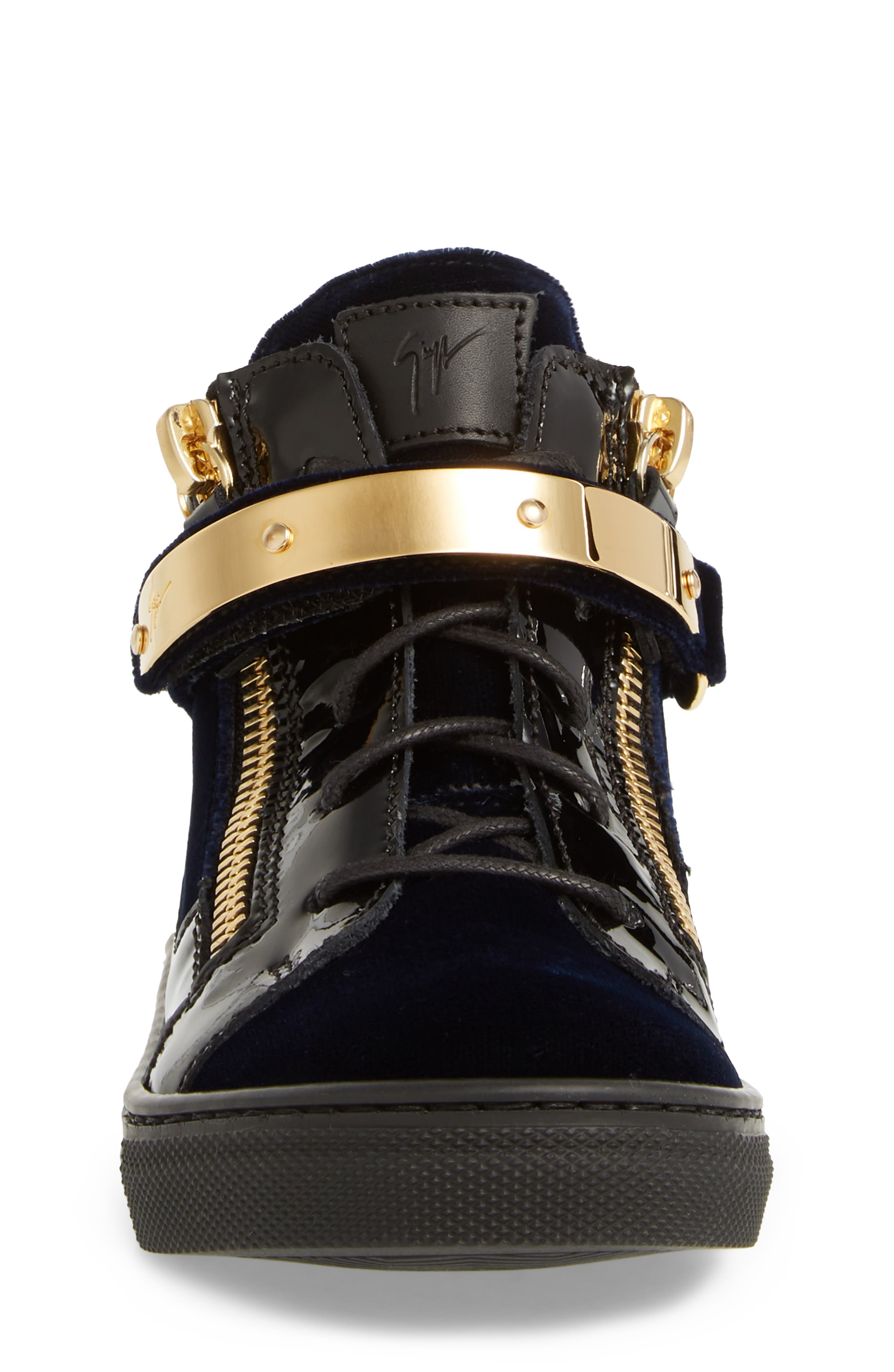 Gomma London Sneaker,                             Alternate thumbnail 4, color,