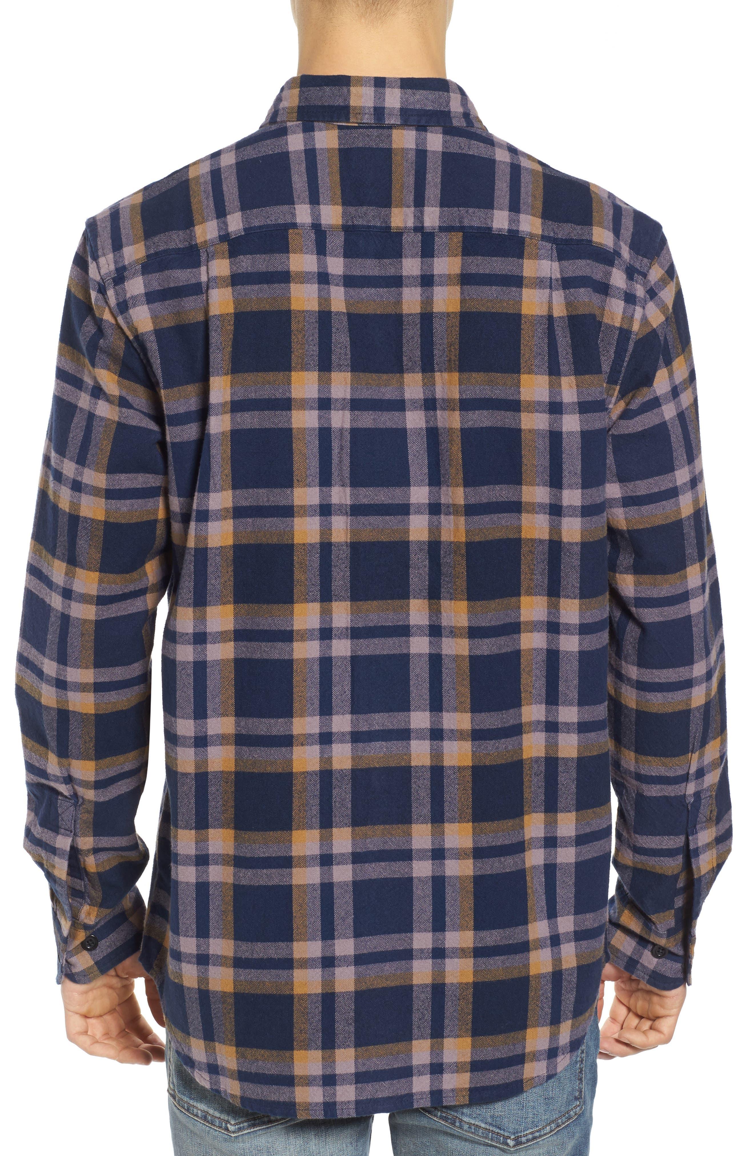 Plaid Flannel Shirt,                             Alternate thumbnail 2, color,