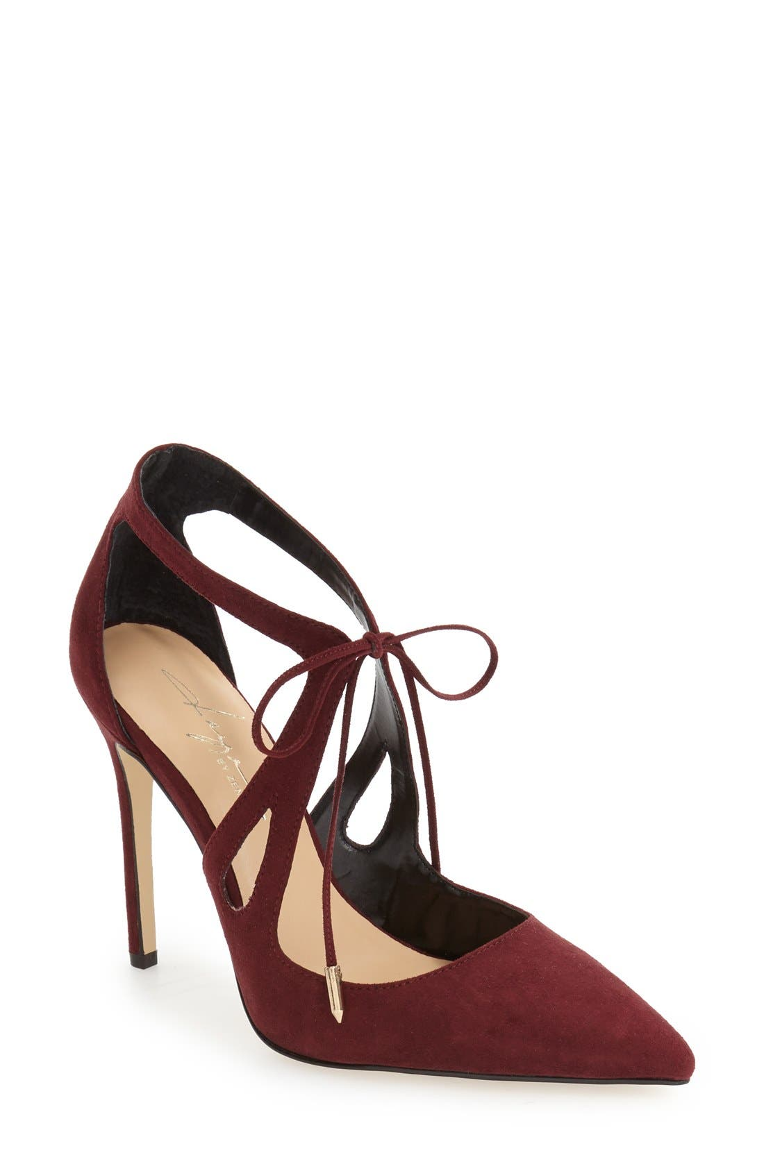by Zendaya 'Aaron' Pointy Toe Pump,                             Main thumbnail 1, color,                             939