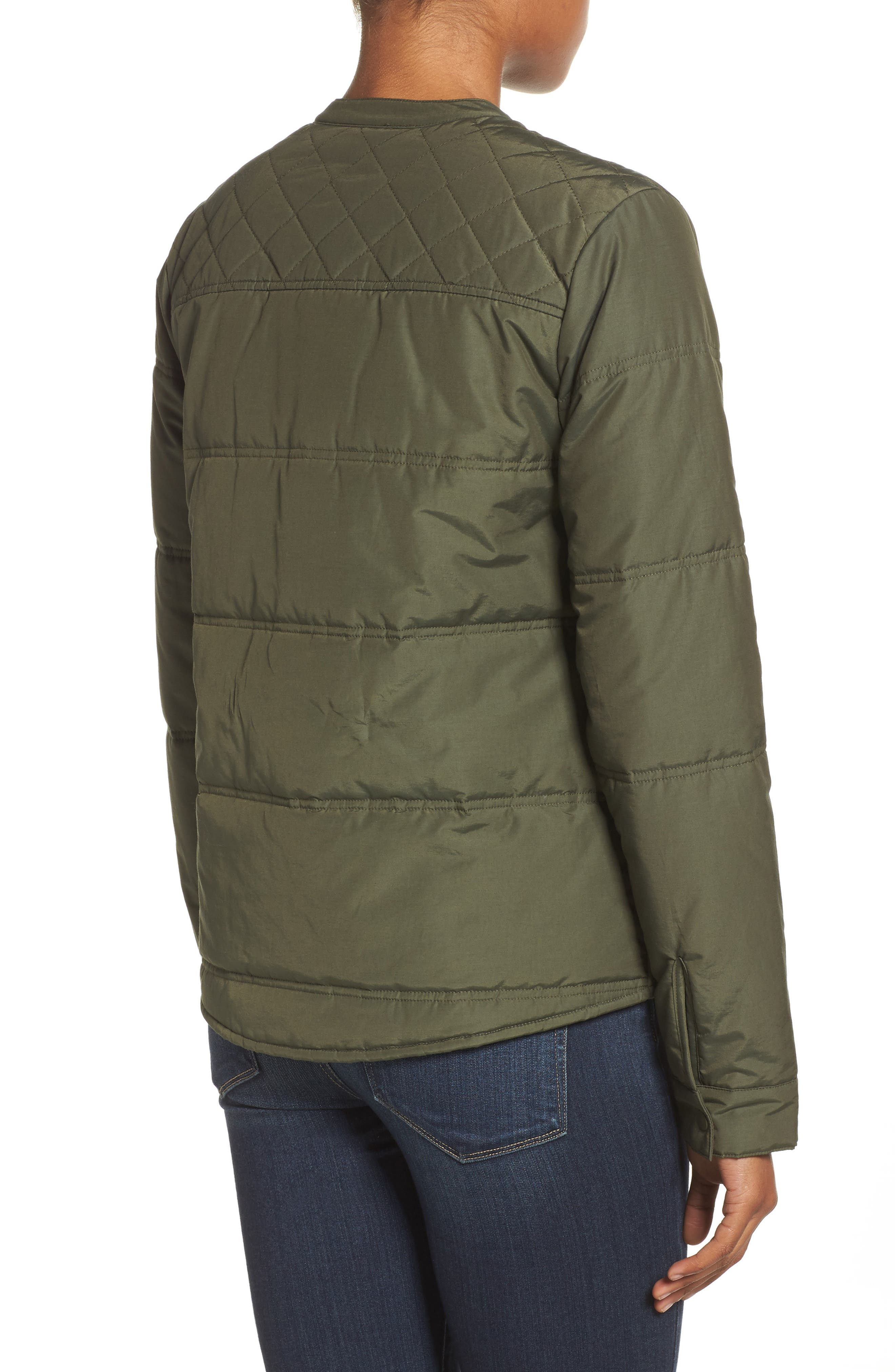 Arliss Insulator Jacket,                             Alternate thumbnail 2, color,                             FOREST NIGHT