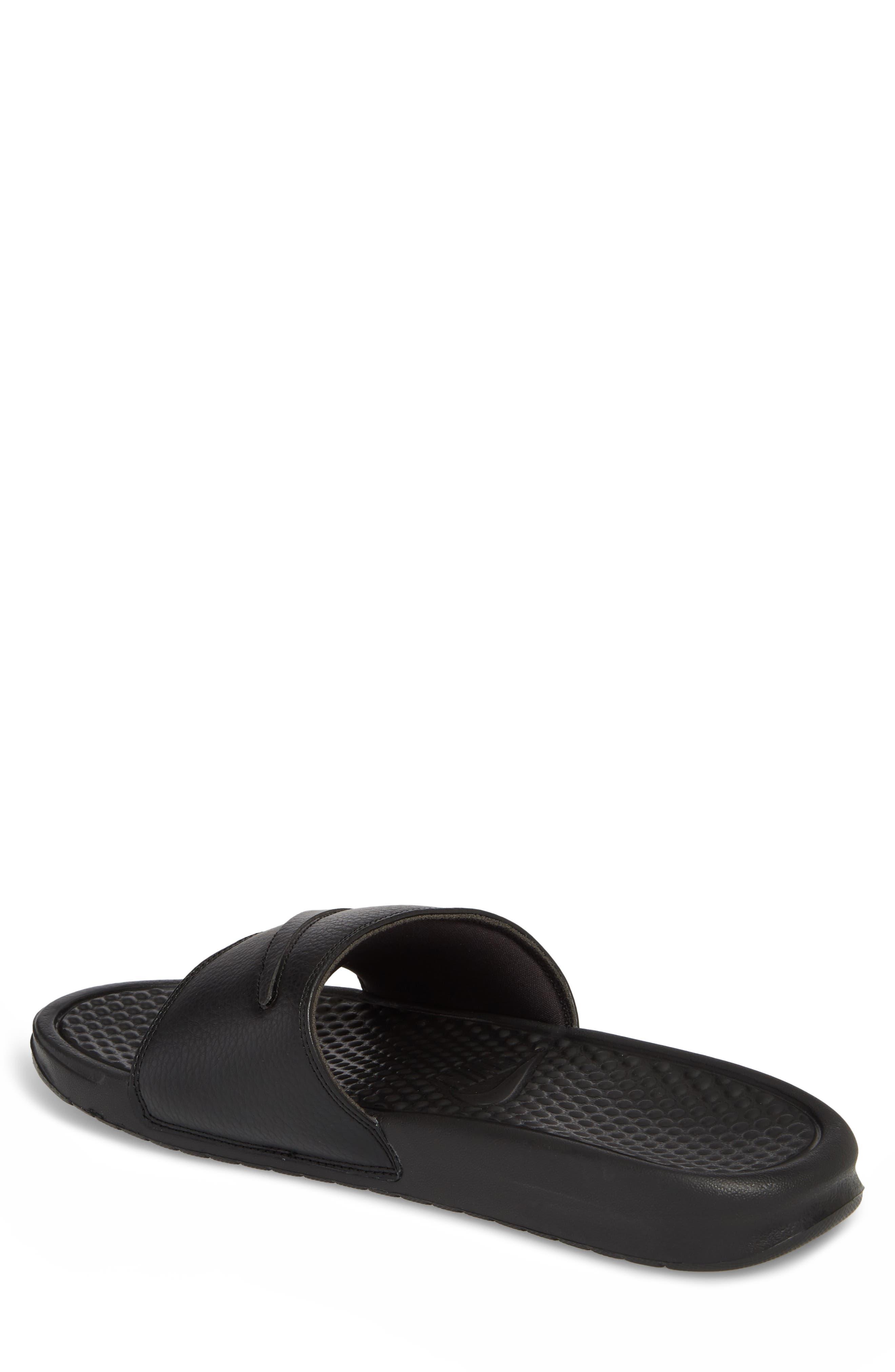 NIKE,                             Benassi JDI Customizable Slide Sandal,                             Alternate thumbnail 2, color,                             001