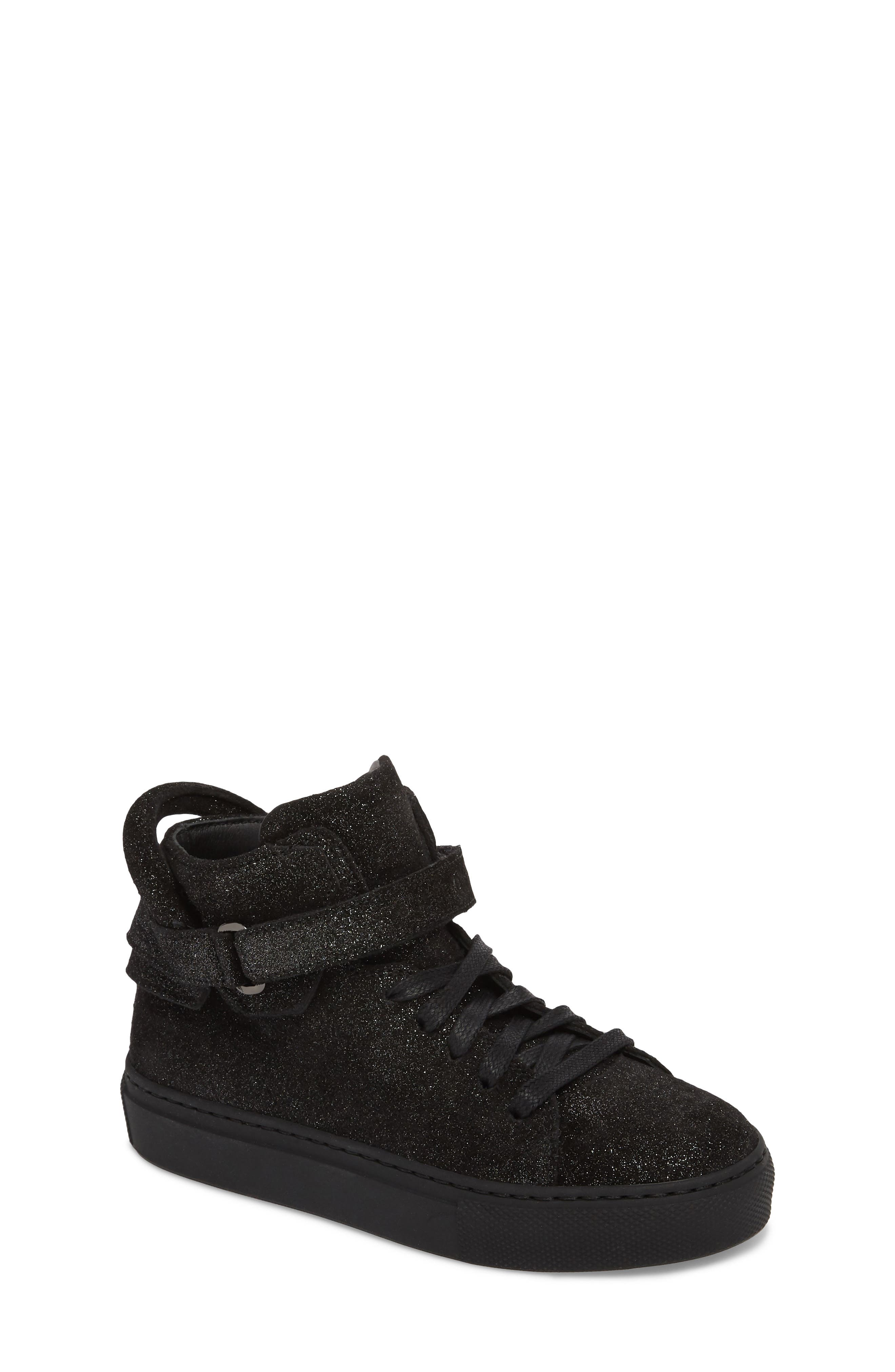 Gleam High Top Sneaker,                         Main,                         color, 001