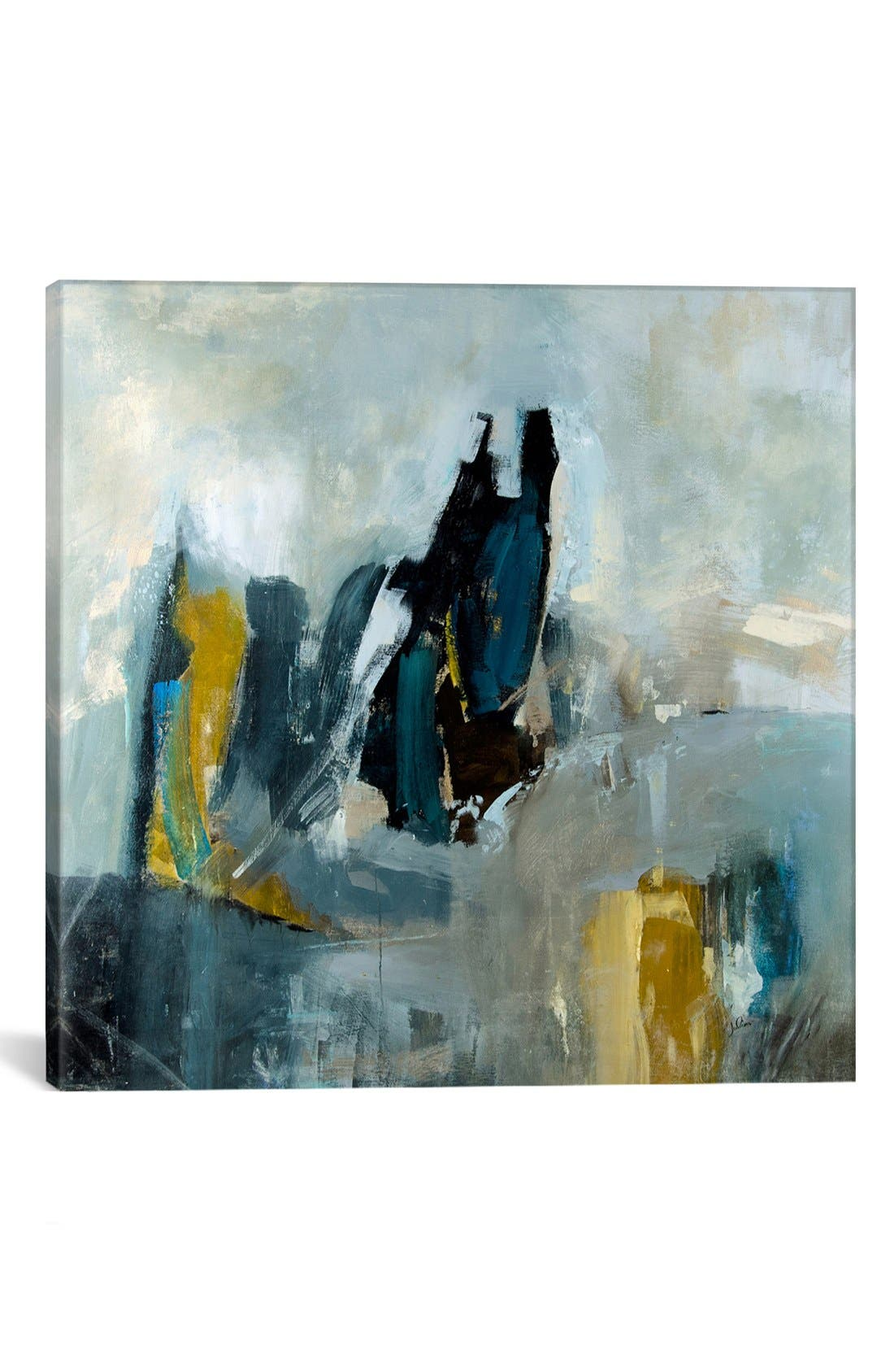 'Short Stories' Giclée Print Canvas Art,                             Main thumbnail 1, color,                             GREY