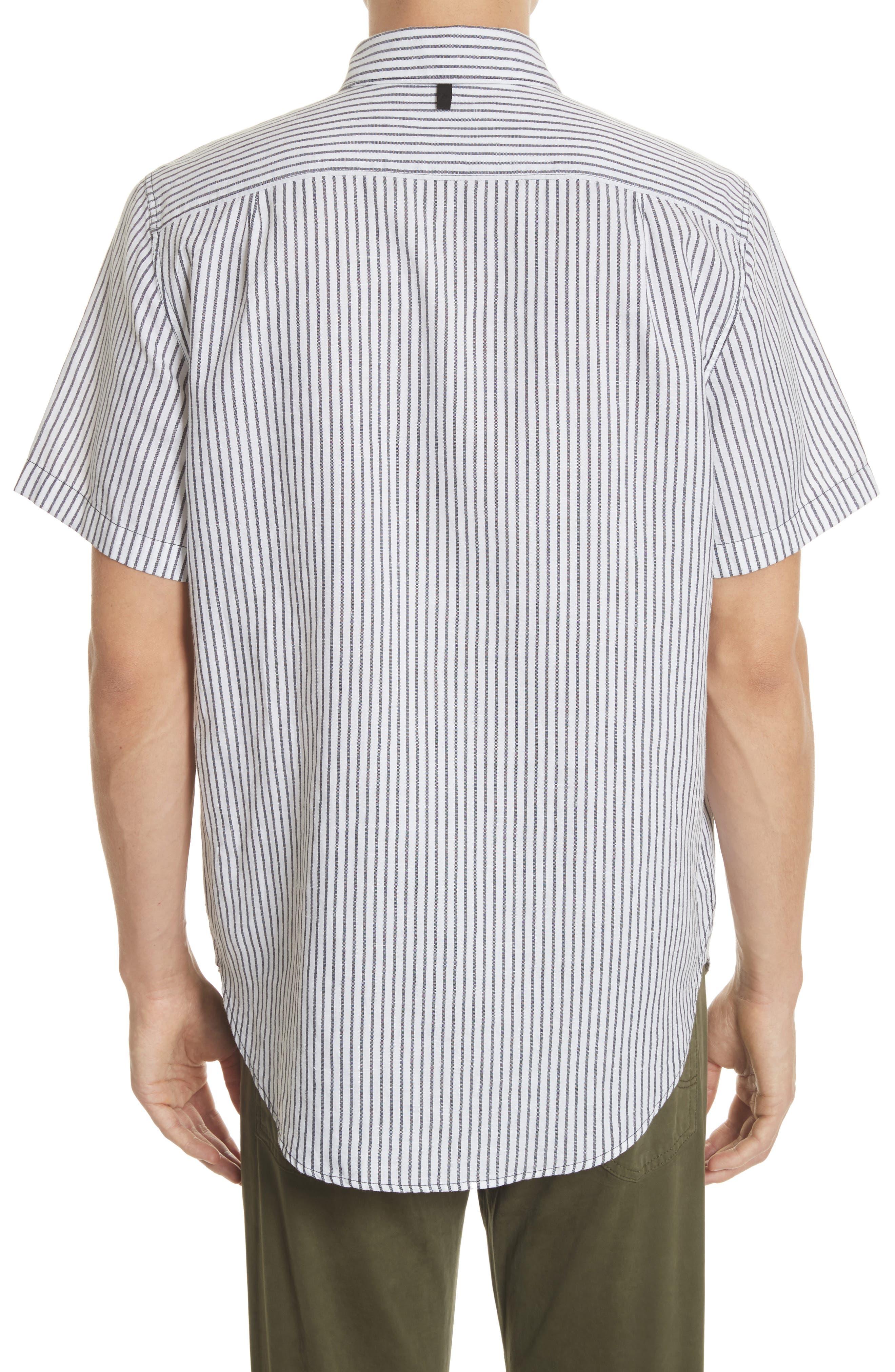 Stripe Short Sleeve Sport Shirt,                             Alternate thumbnail 2, color,                             195