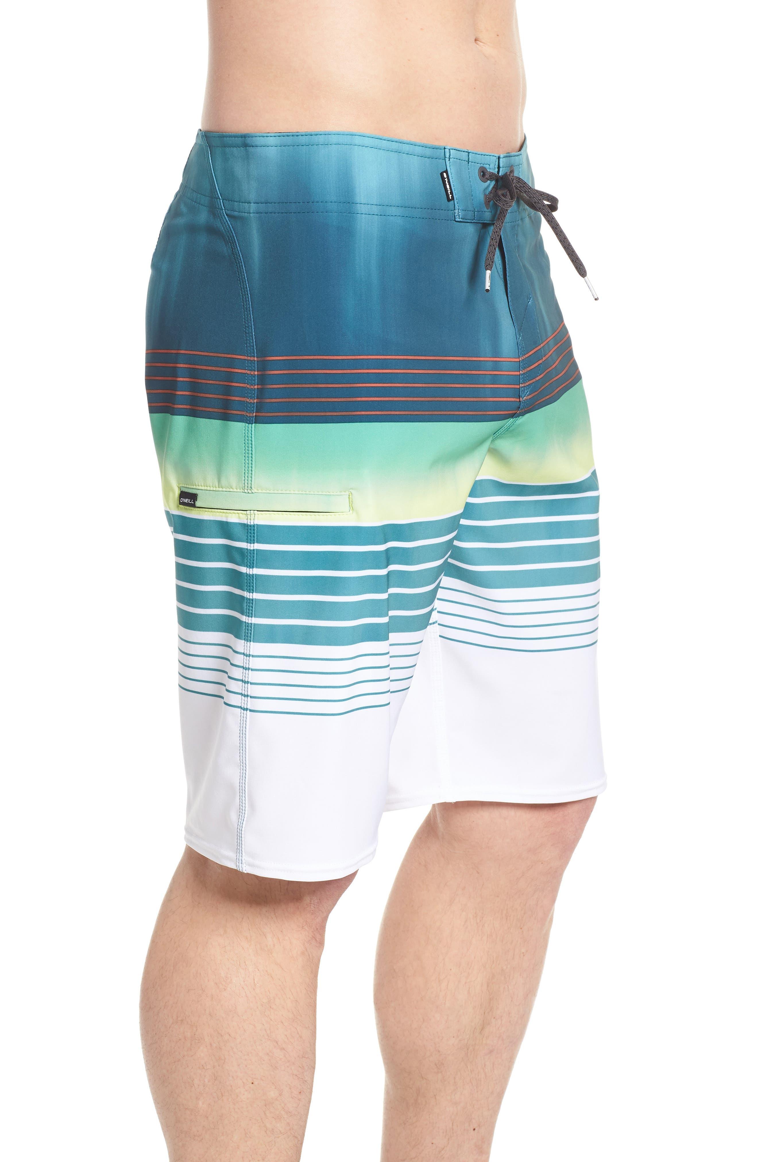 Hyperfreak Heist Board Shorts,                             Alternate thumbnail 3, color,                             DARK BLUE