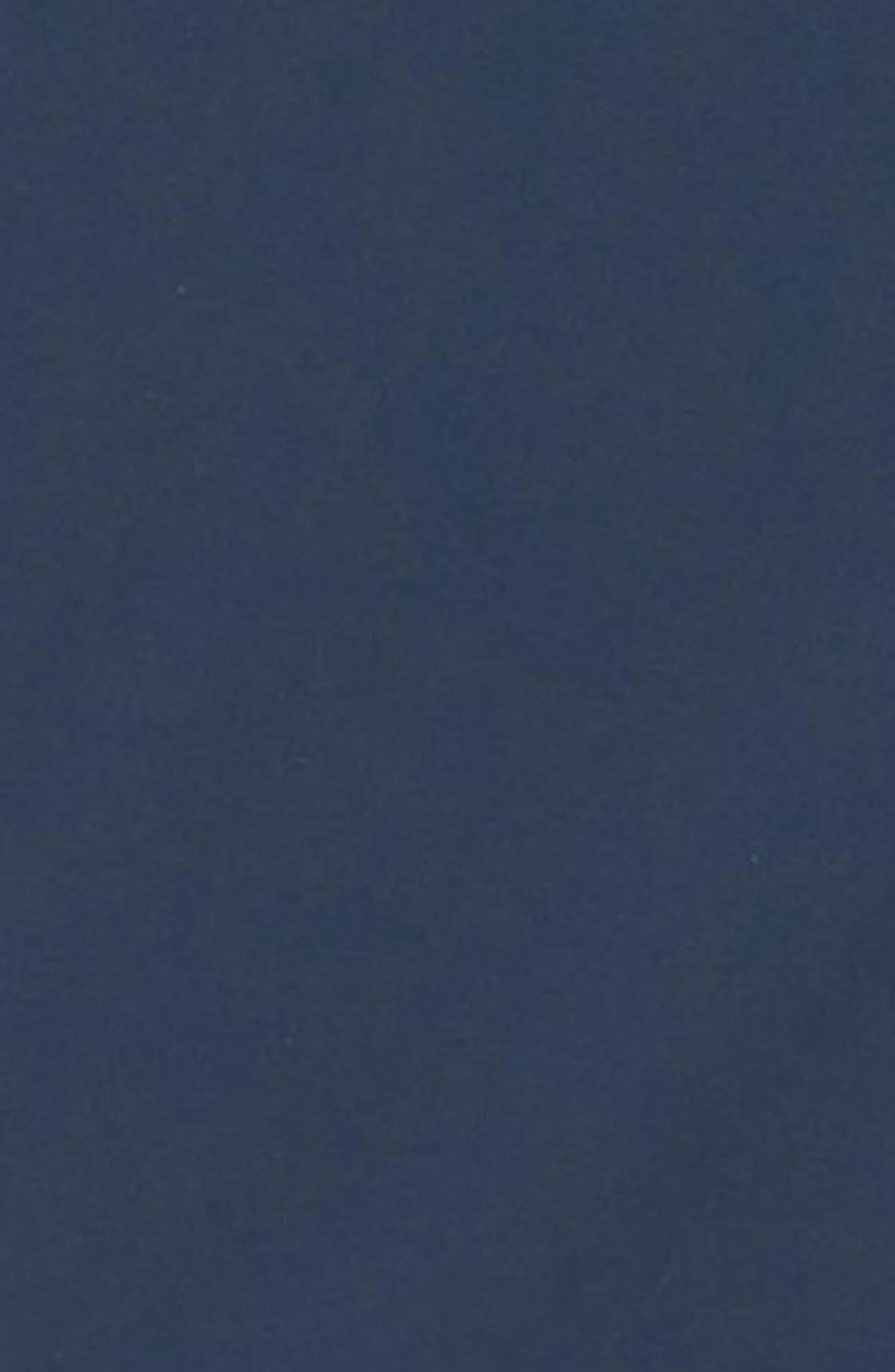 Water Resistant Reversible Bomber Jacket,                             Alternate thumbnail 3, color,                             INDIGO/ BLUE BLACK