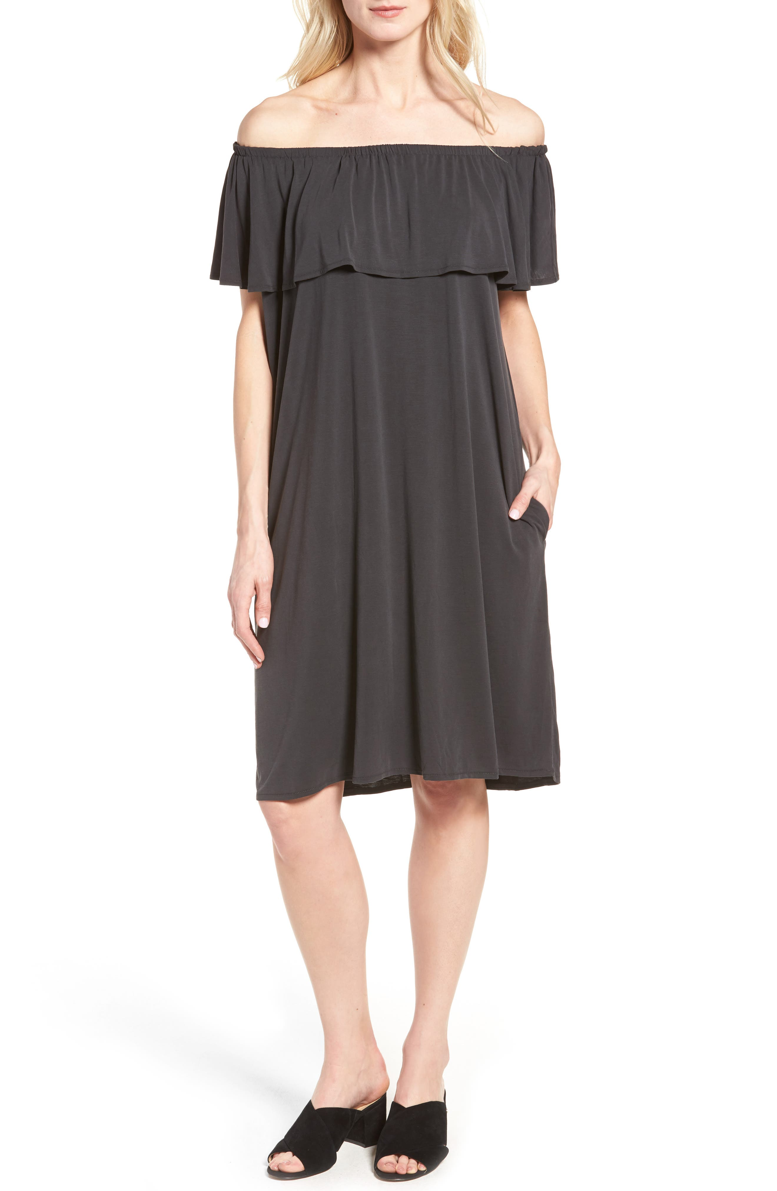Boardwalk Convertible Jersey Dress,                         Main,                         color, 006